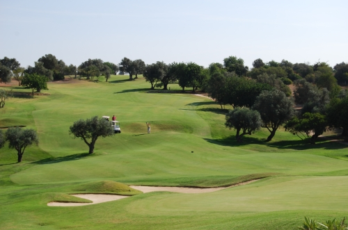 One of many Golf courses on the Algarve