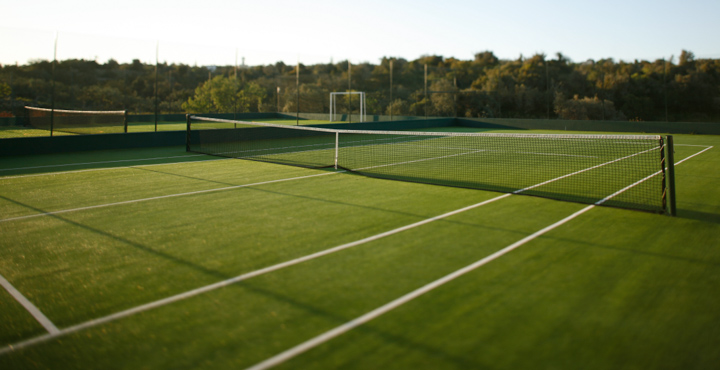 Two tennis courts (one multi-purpose)
