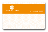 The Vale do Lobo Welcome Card