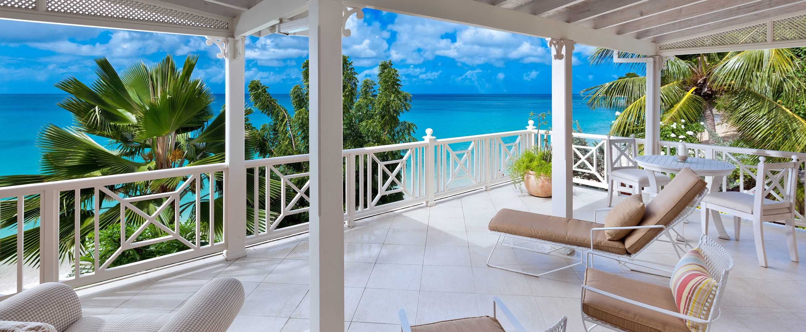 Luxury Barbados villa with sea view
