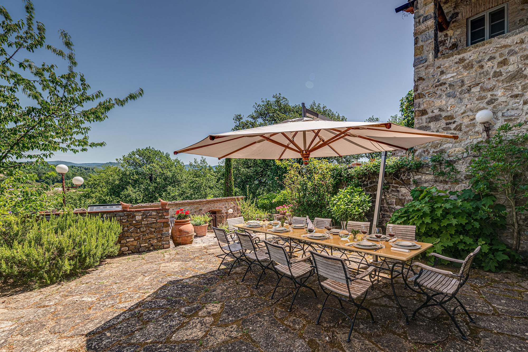 Villa Claudia, 5 Bedroom rate, 5 bedroom villa in Chianti & Countryside, Tuscany Photo #4