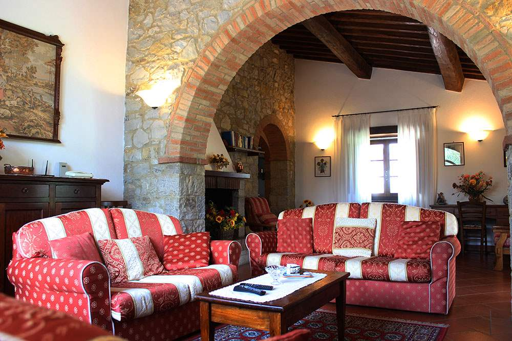 Villa Floriana, 4 bedroom villa in Chianti & Countryside, Tuscany Photo #4