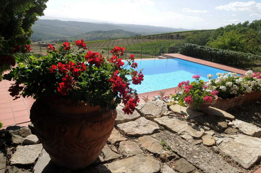 Villa Conca d'Oro, 6 bedroom villa in Chianti & Countryside, Tuscany Photo #2