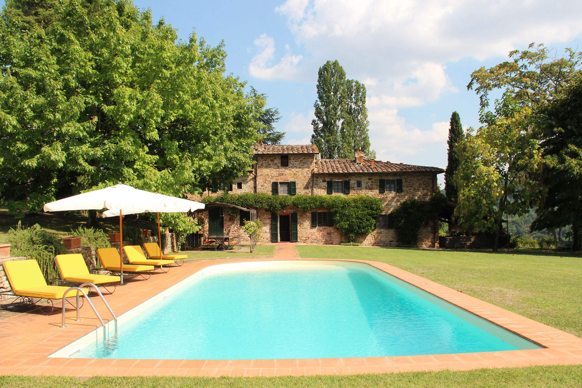 Villa Felicita, Main house only, 6 persons rate, 3 bedroom villa in Chianti & Countryside, Tuscany Photo #11