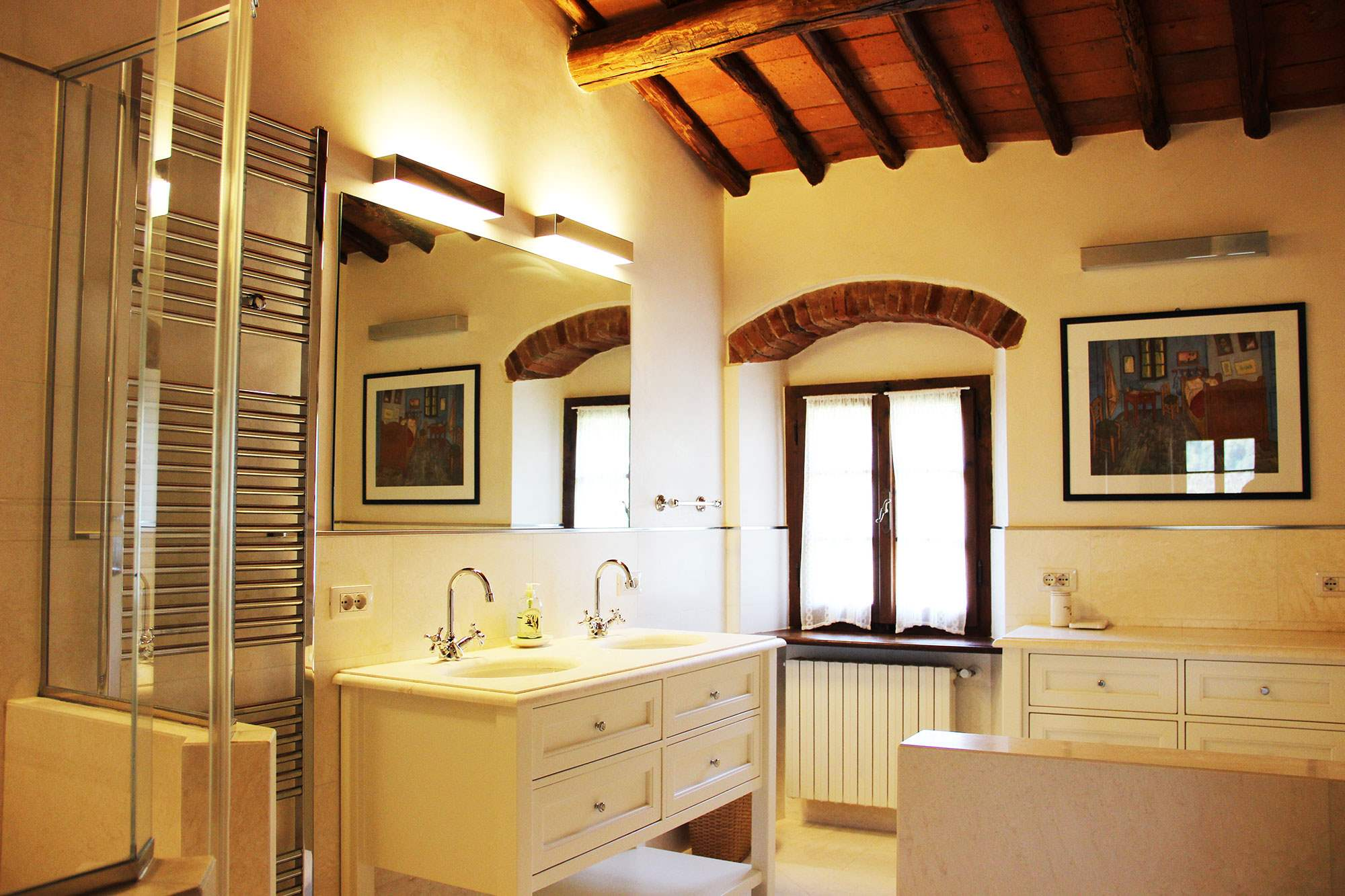 Villa Felicita, Main house only, 6 persons rate, 3 bedroom villa in Chianti & Countryside, Tuscany Photo #14