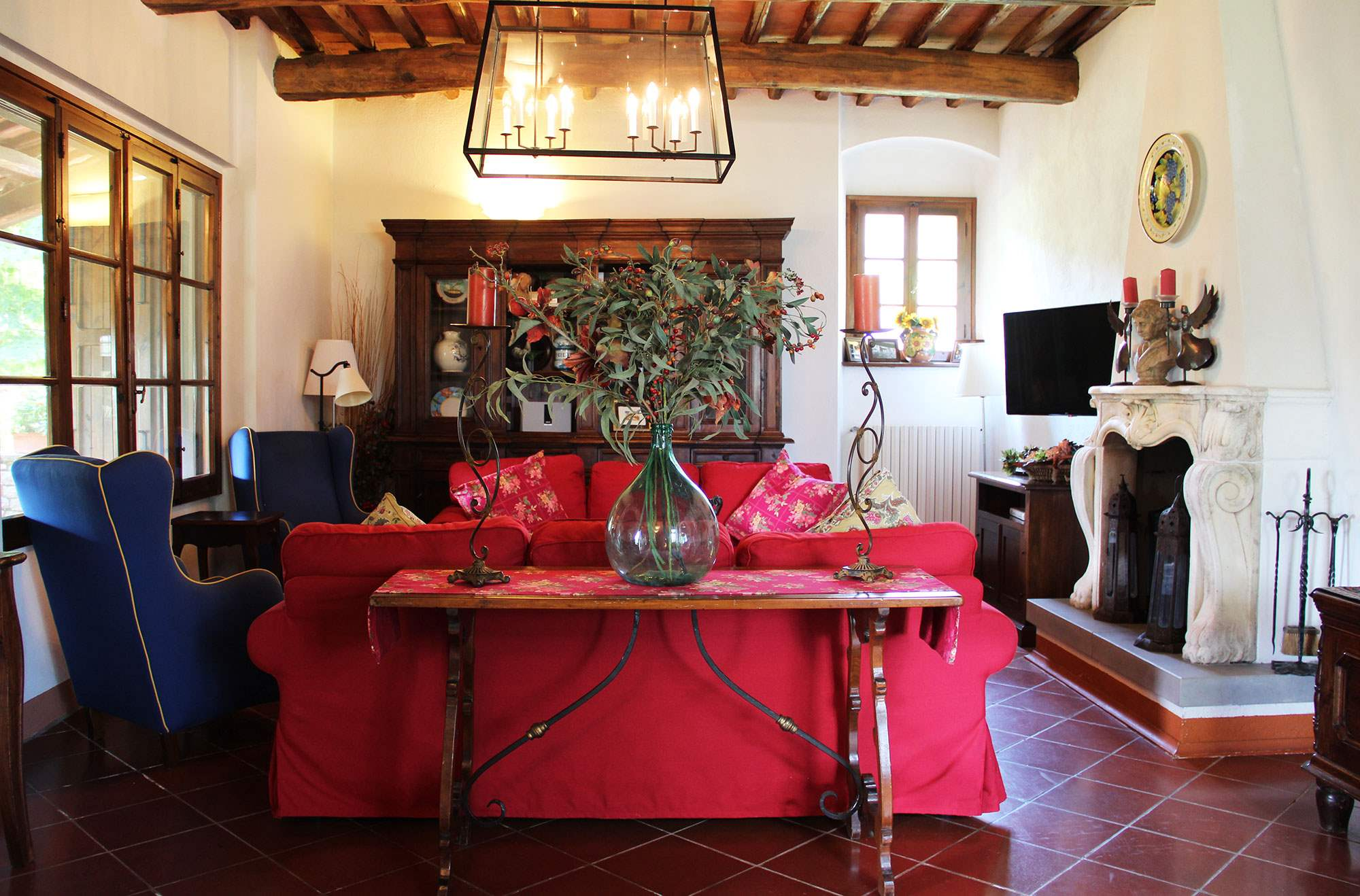 Villa Felicita, Main house only, 6 persons rate, 3 bedroom villa in Chianti & Countryside, Tuscany Photo #6