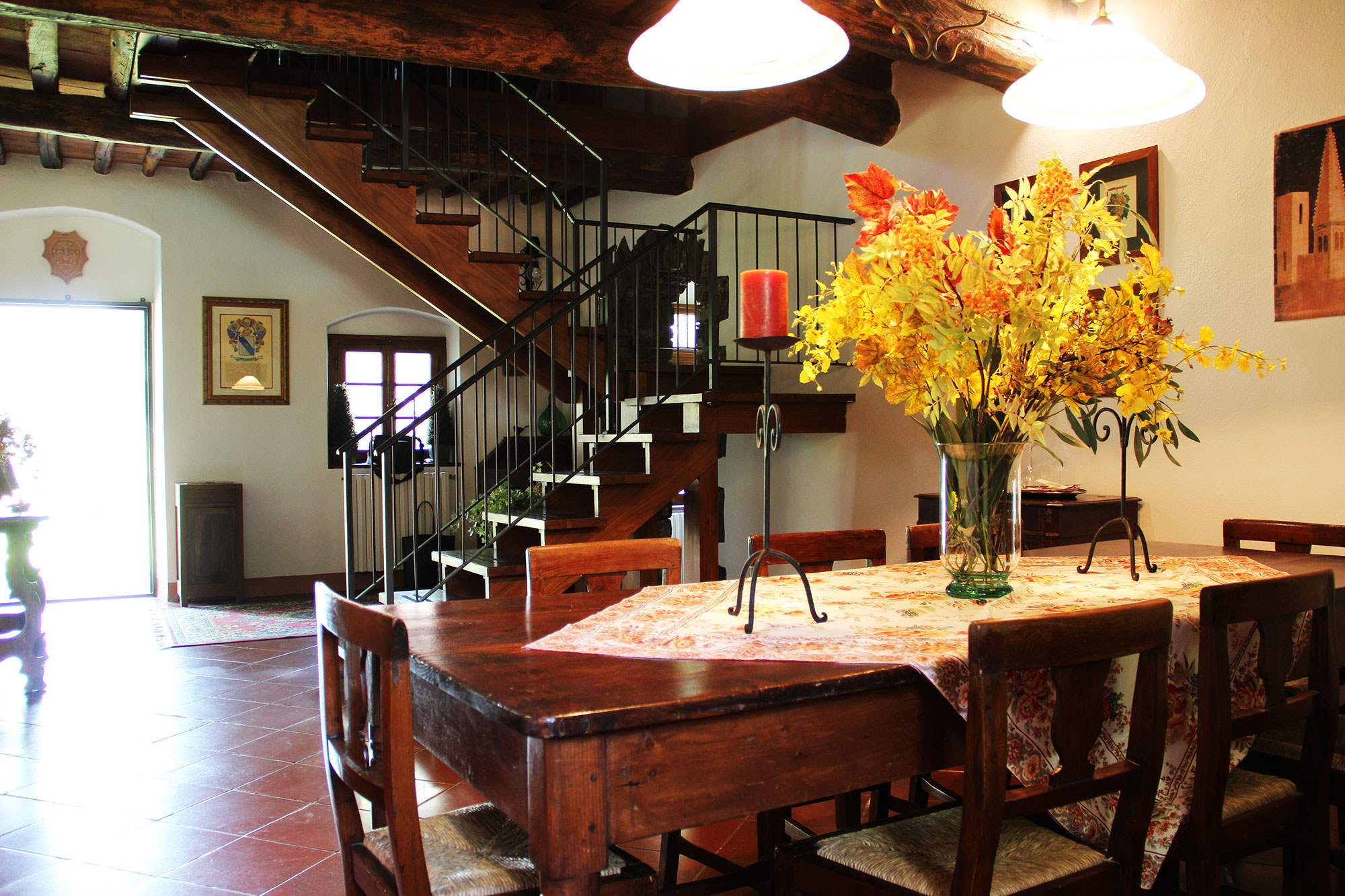 Villa Felicita, Main house only, 6 persons rate, 3 bedroom villa in Chianti & Countryside, Tuscany Photo #8