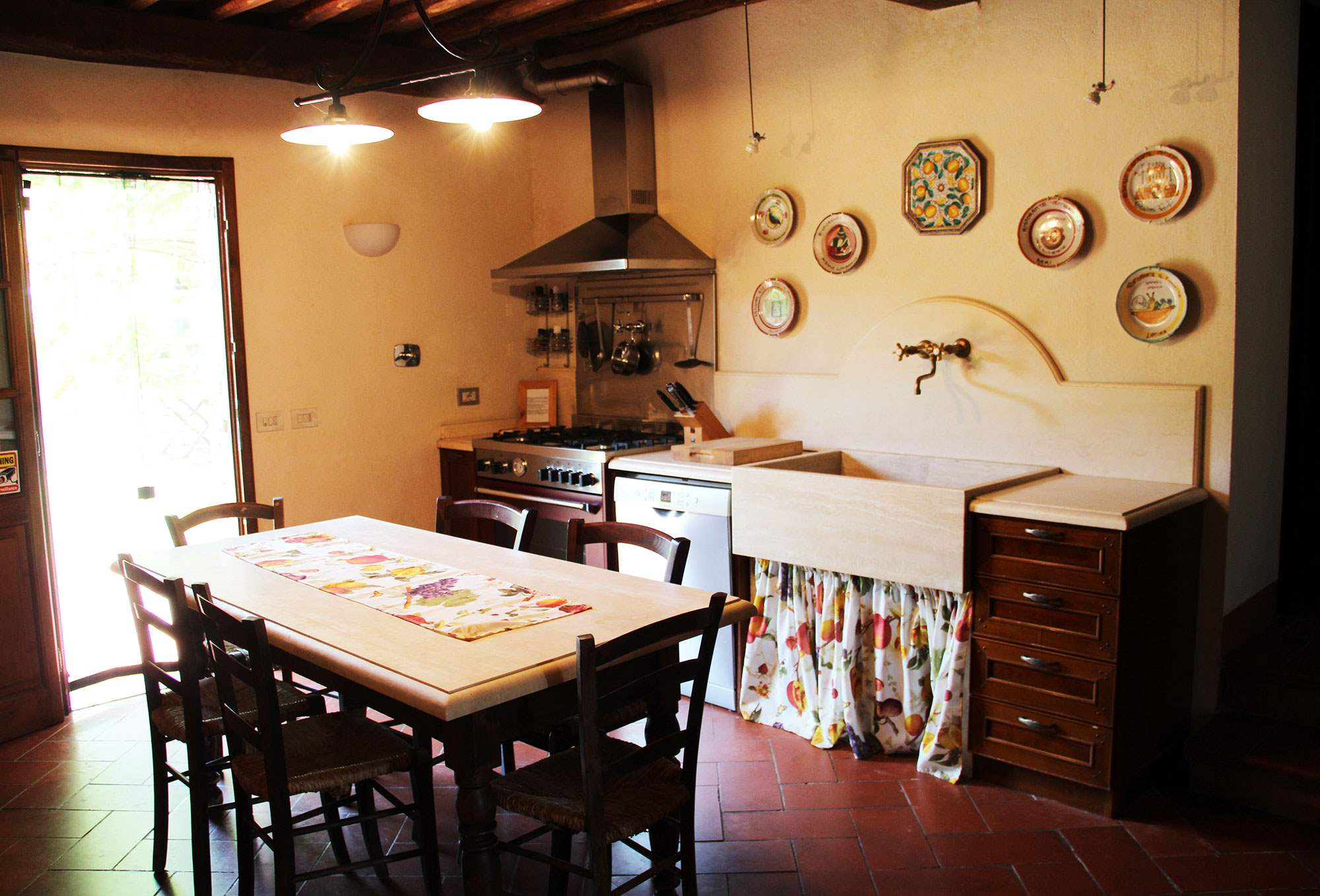 Villa Felicita, Main house only, 6 persons rate, 3 bedroom villa in Chianti & Countryside, Tuscany Photo #9
