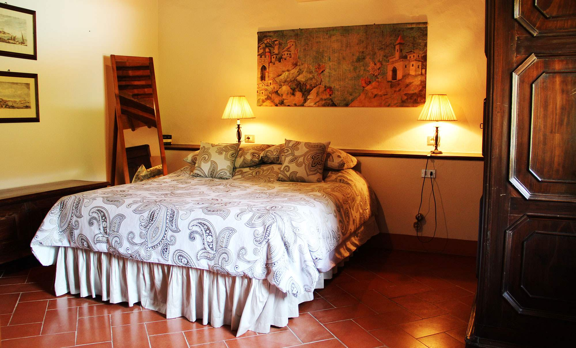 Villa Felicita, Main house and apartment, 10 persons rate, 5 bedroom villa in Chianti & Countryside, Tuscany Photo #16