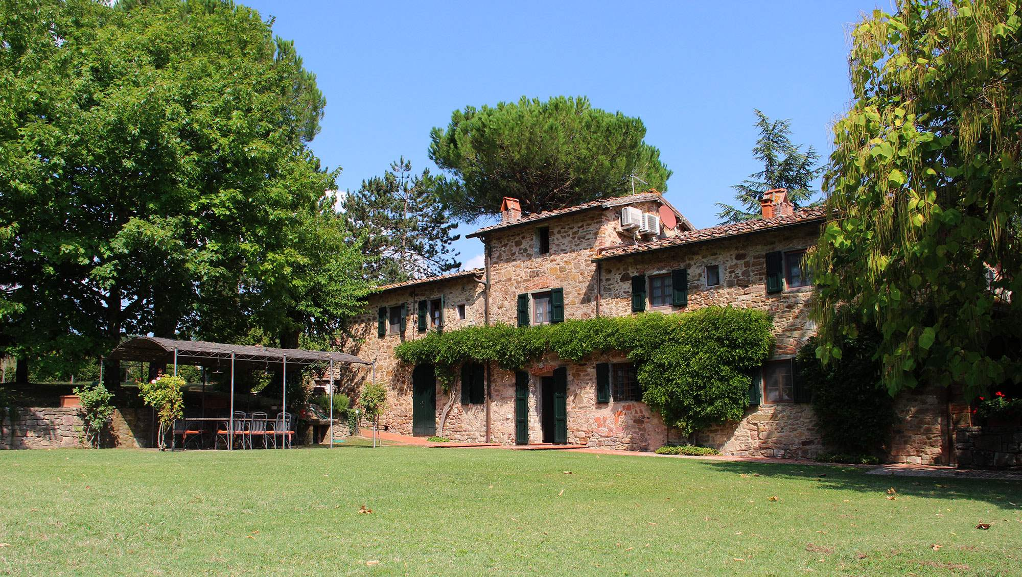 Villa Felicita, Main house and apartment, 10 persons rate, 5 bedroom villa in Chianti & Countryside, Tuscany Photo #2