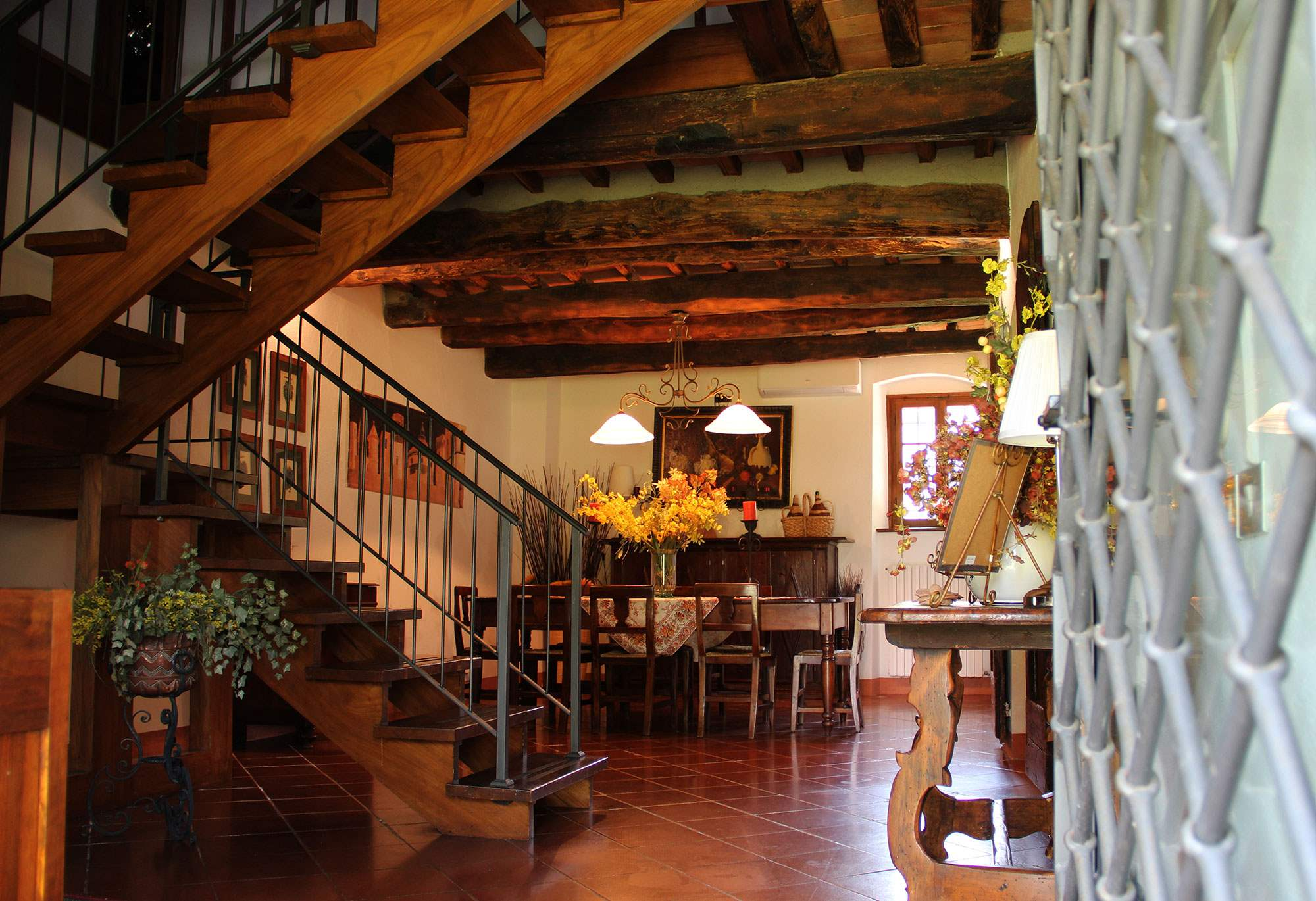 Villa Felicita, Main house and apartment, 10 persons rate, 5 bedroom villa in Chianti & Countryside, Tuscany Photo #7