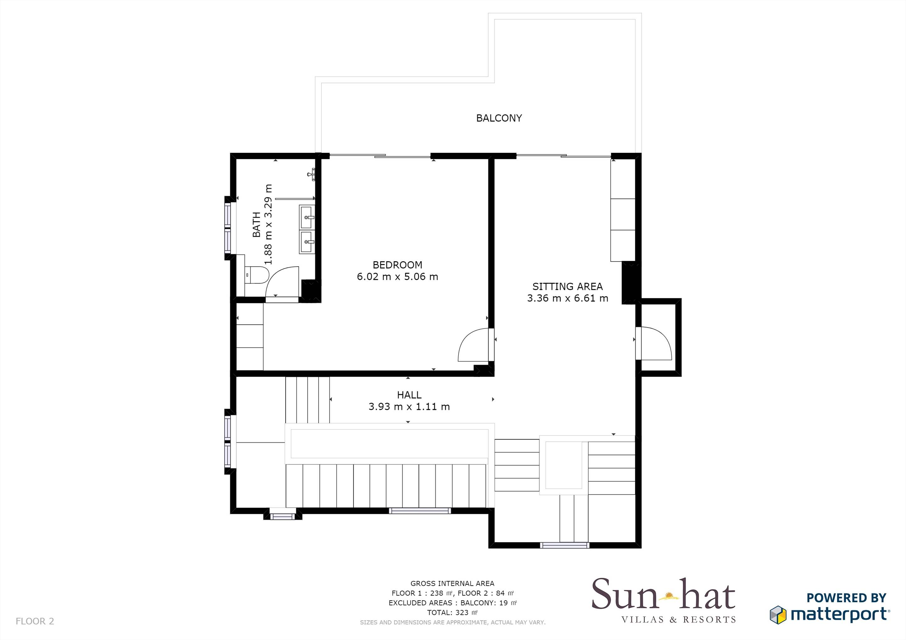 Villa Mar Azul Floorplan #2