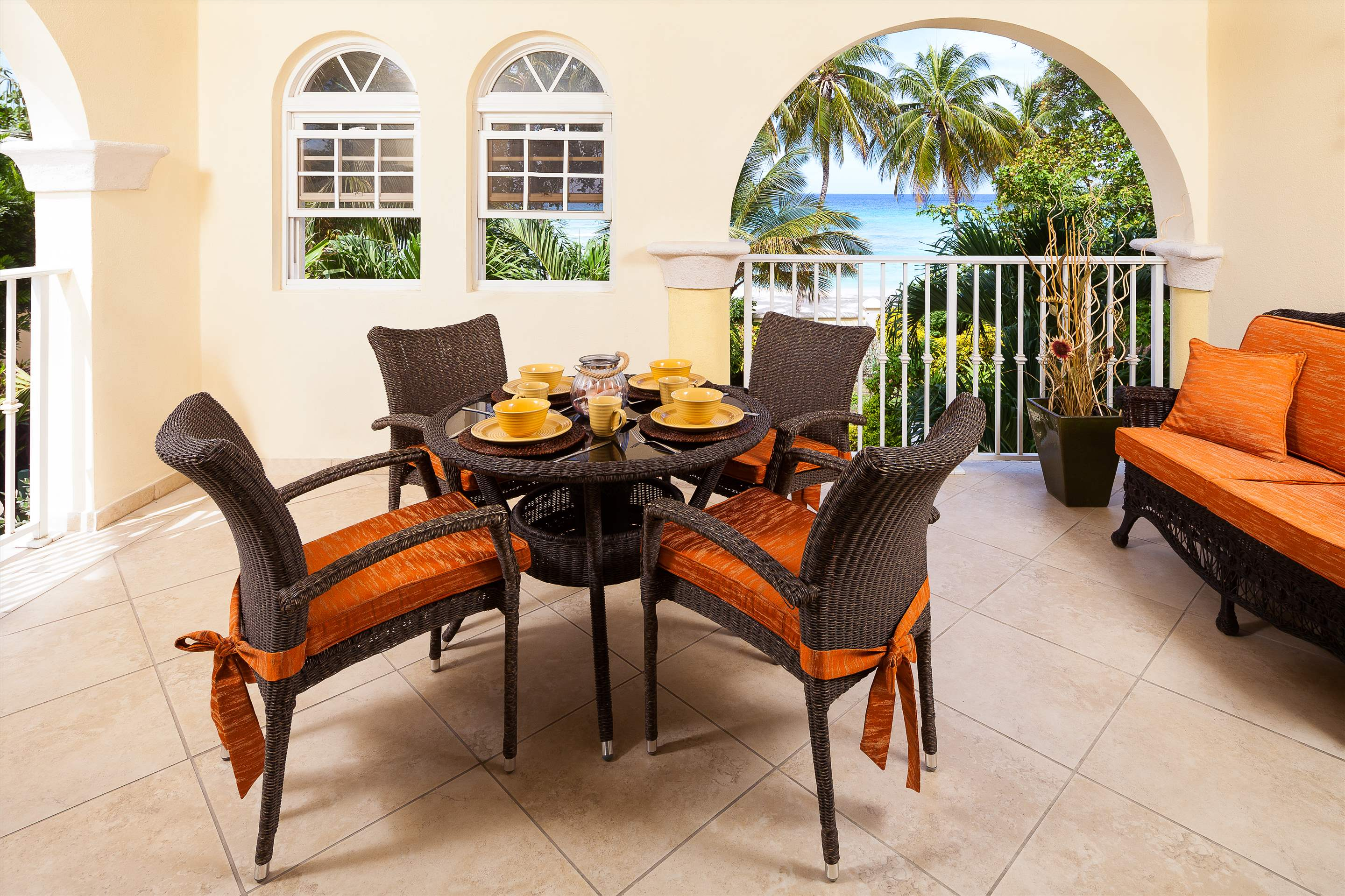 Sapphire Beach 118, 2 bedroom , 2 bedroom apartment in St. Lawrence Gap & South Coast, Barbados Photo #1