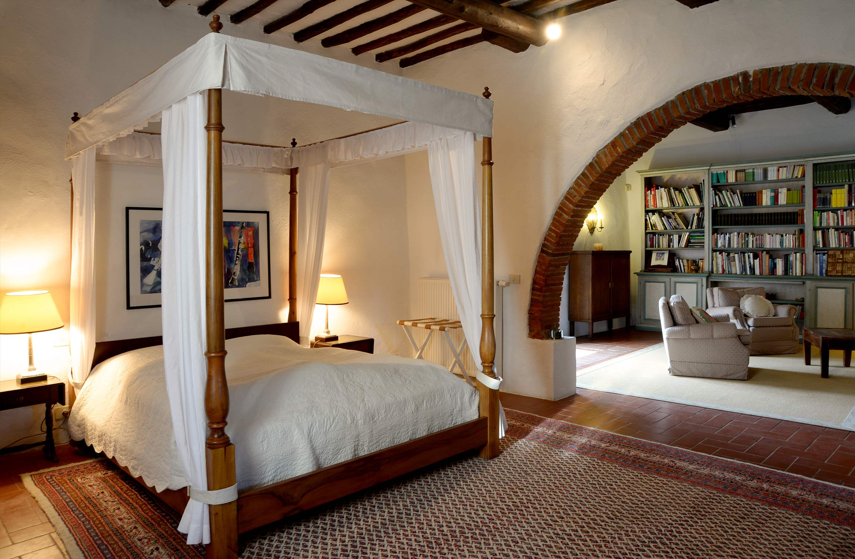 Villa Campana, 5 bedroom villa in Chianti & Countryside, Tuscany Photo #12