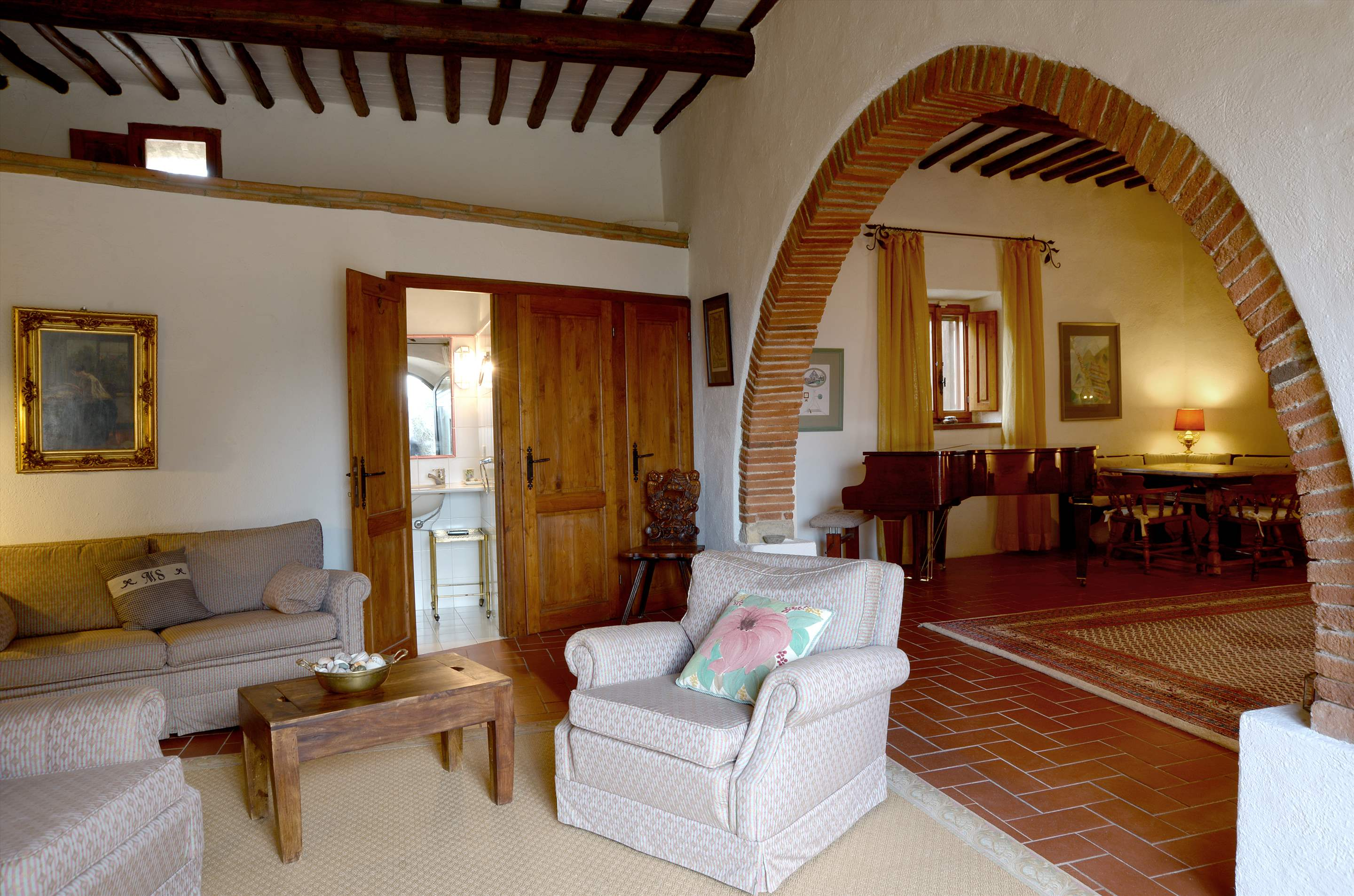 Villa Campana, 5 bedroom villa in Chianti & Countryside, Tuscany Photo #13
