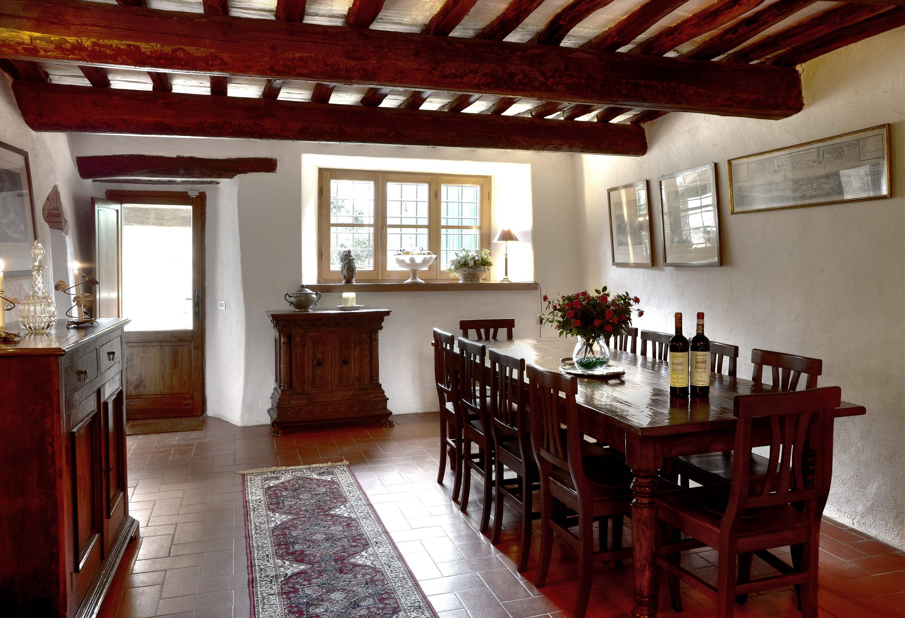 Villa Campana, 5 bedroom villa in Chianti & Countryside, Tuscany Photo #4