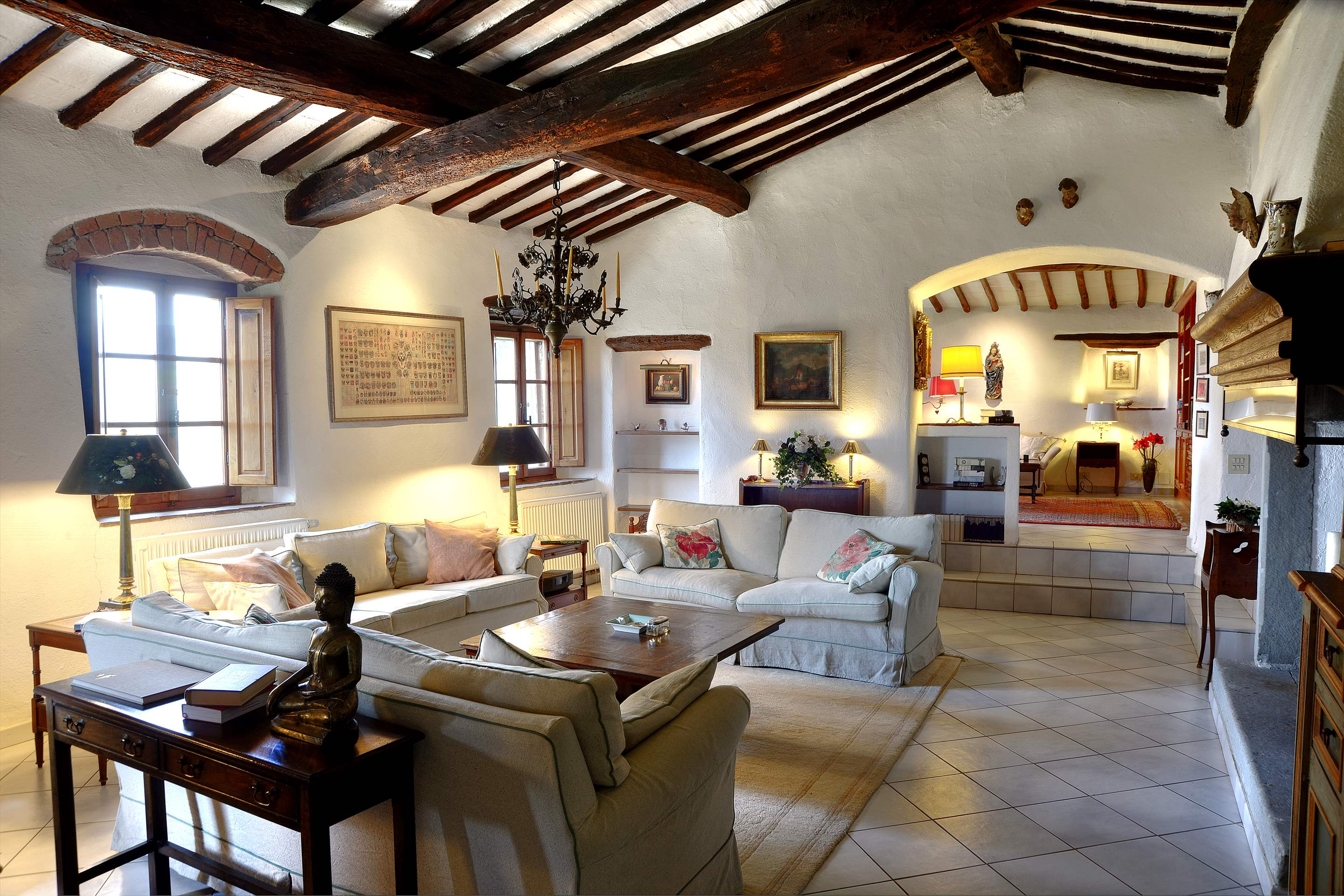 Villa Campana, 5 bedroom villa in Chianti & Countryside, Tuscany Photo #5