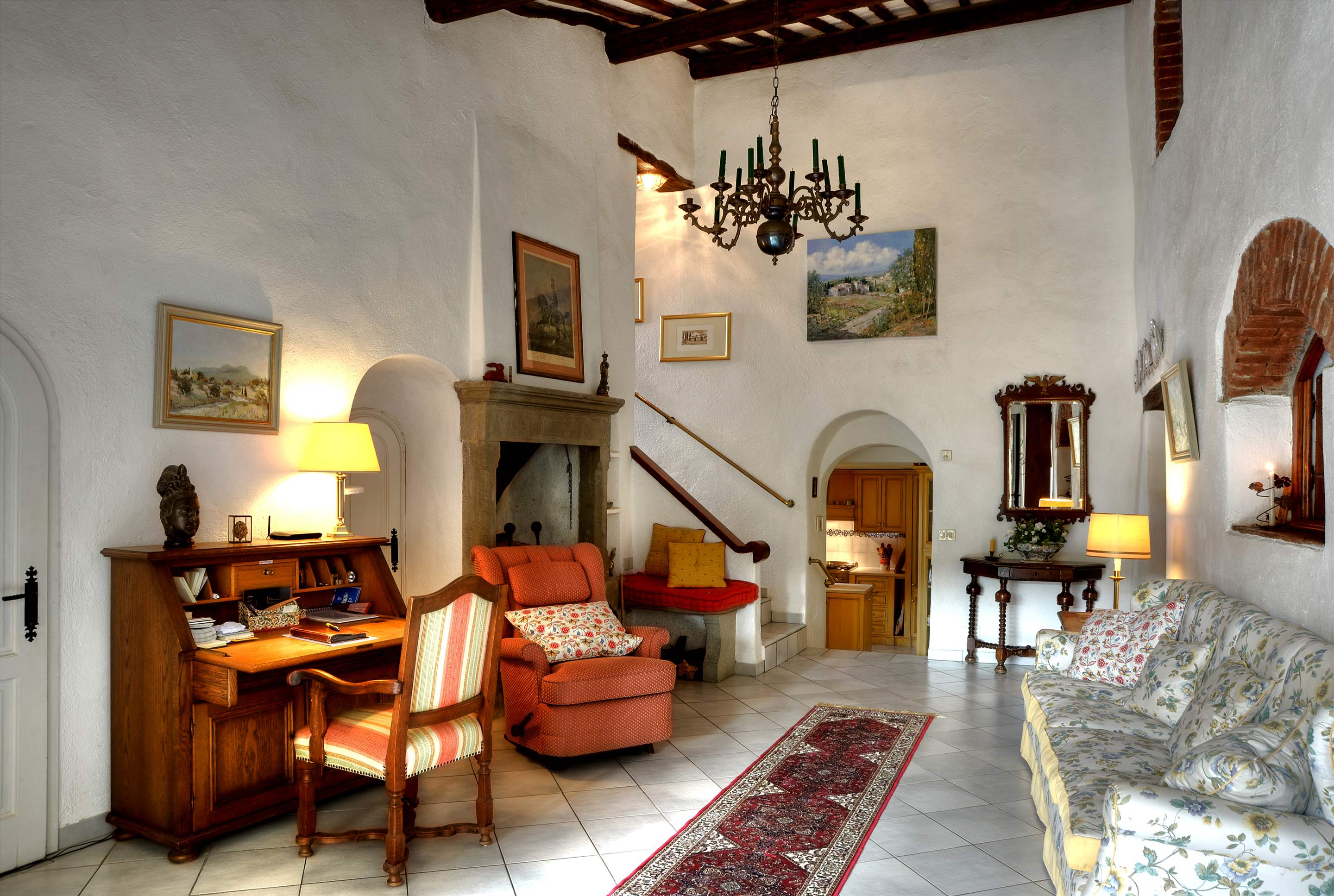 Villa Campana, 5 bedroom villa in Chianti & Countryside, Tuscany Photo #8