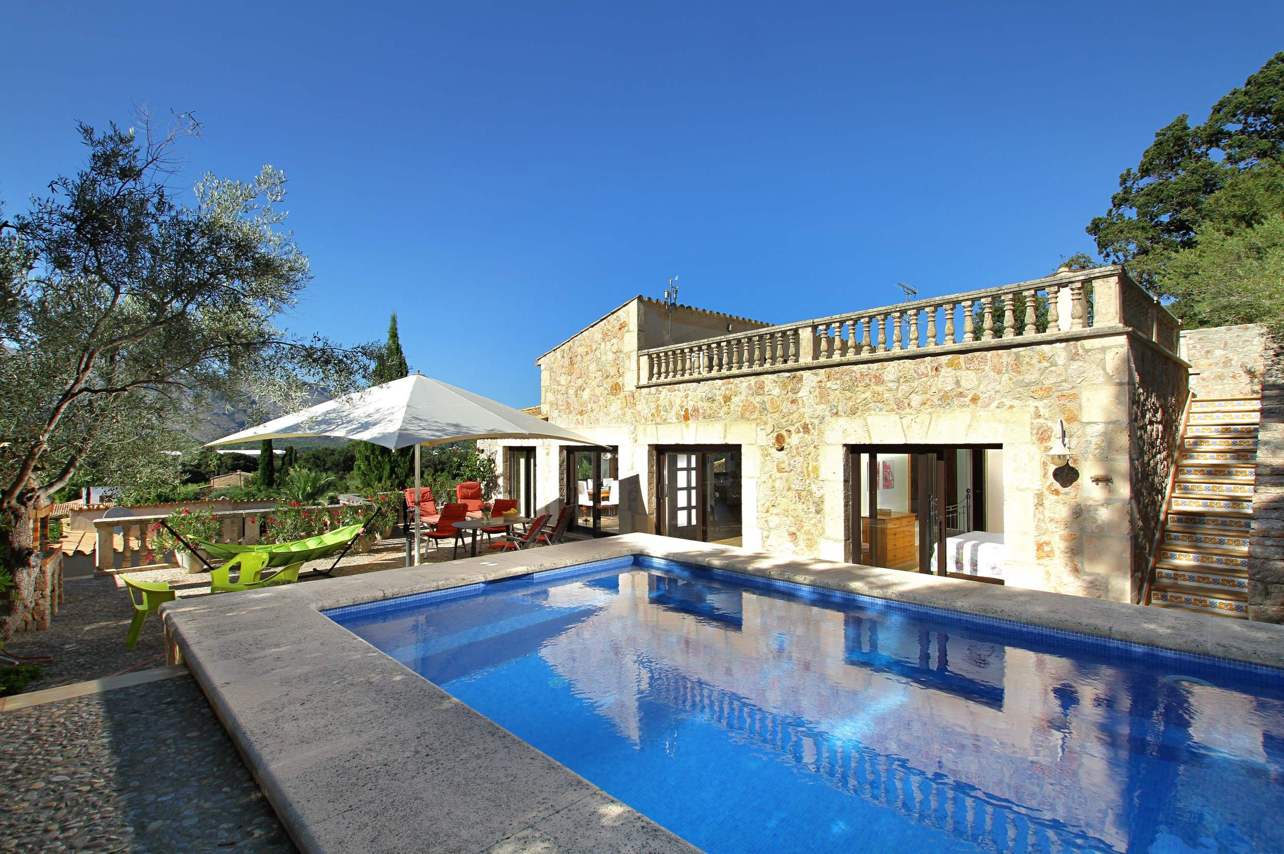 Villa Llop, 4 bedroom villa in Pollensa & Puerto Pollensa , Majorca Photo #1
