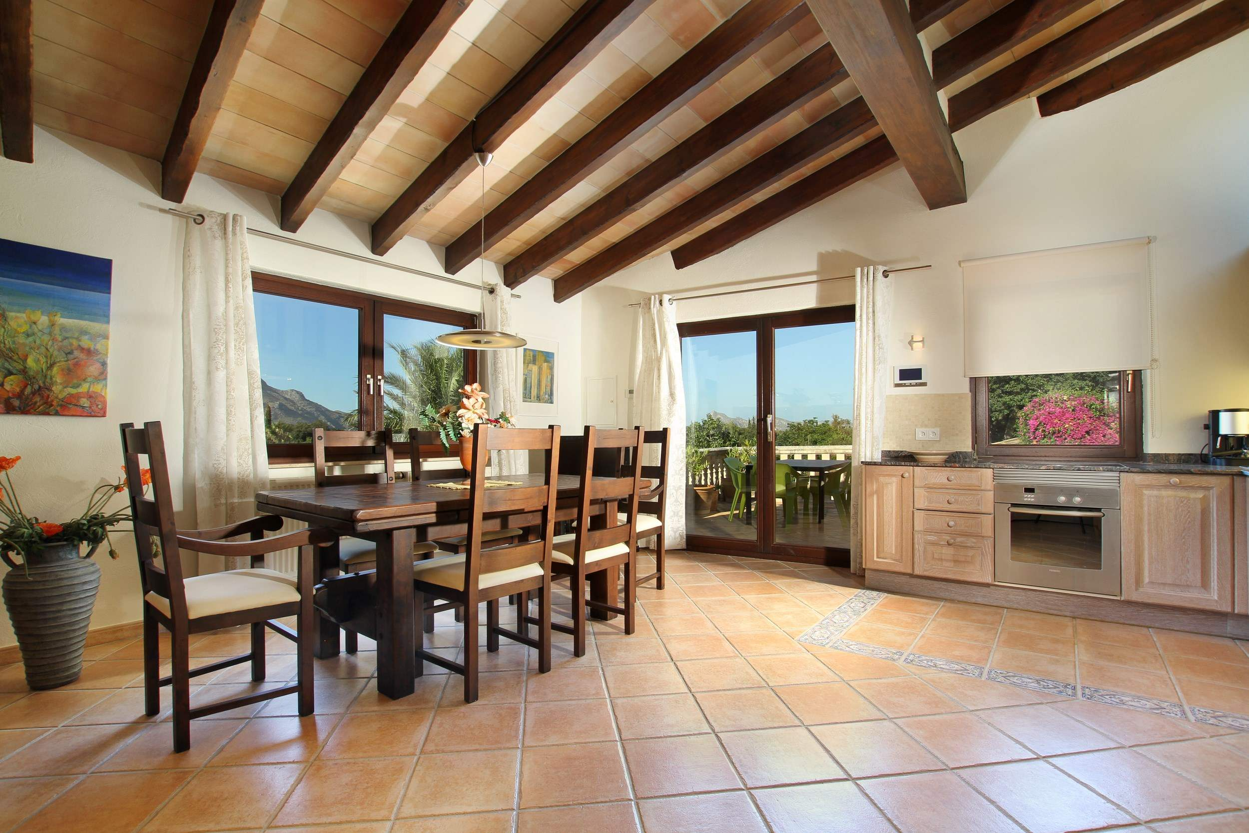 Villa Llop, 4 bedroom villa in Pollensa & Puerto Pollensa , Majorca Photo #18