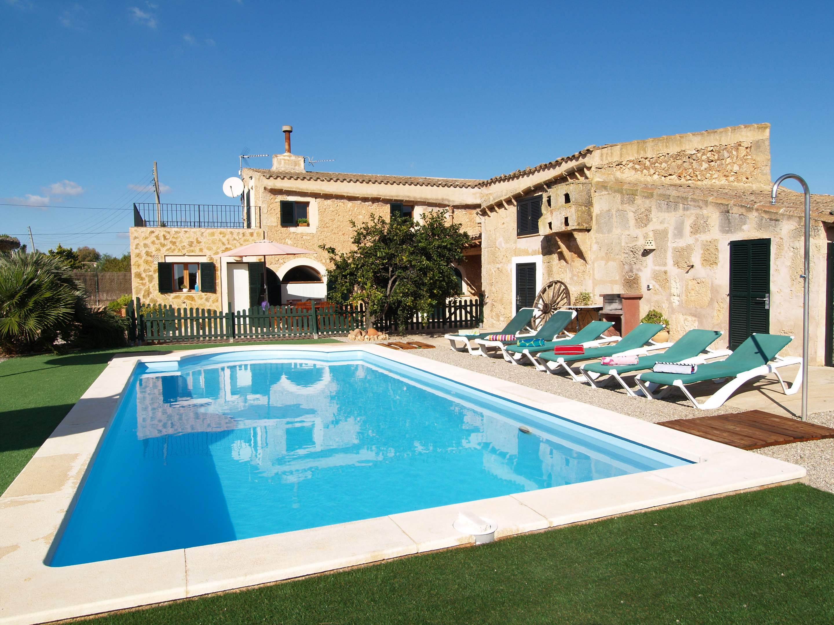 Son Rengo, 3 bedroom villa in Campos & Sa Rapita , Majorca Photo #1