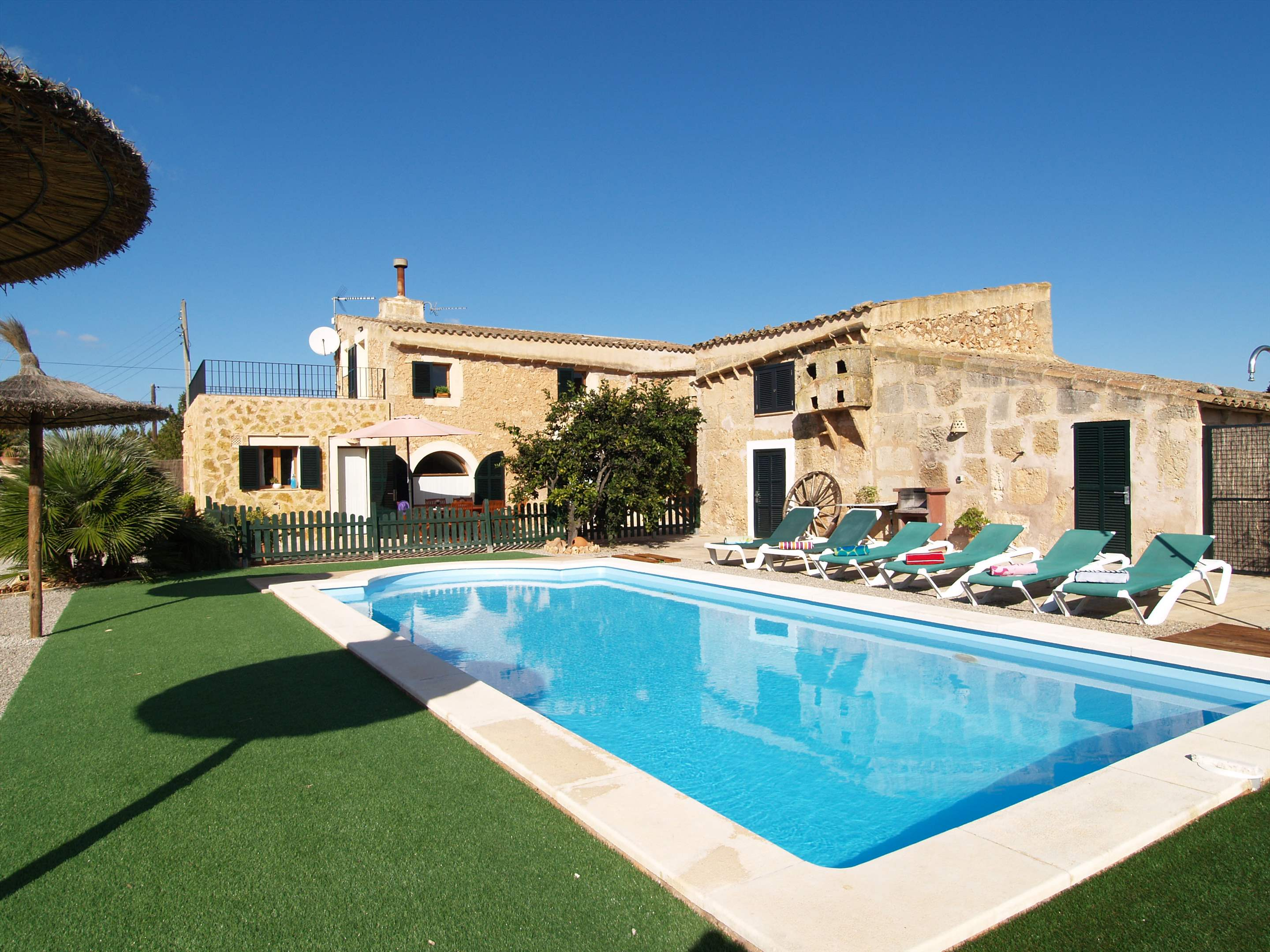 Son Rengo, 3 bedroom villa in Campos & Sa Rapita , Majorca Photo #7