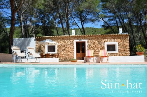 Can Font, 2 villa in Inland Villages &  North Coast, Ibiza