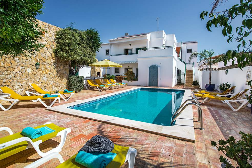 Casa Rebela, Up to 9 persons rate, 5 bedroom villa in Gale, Vale da Parra and Guia, Algarve Photo #1