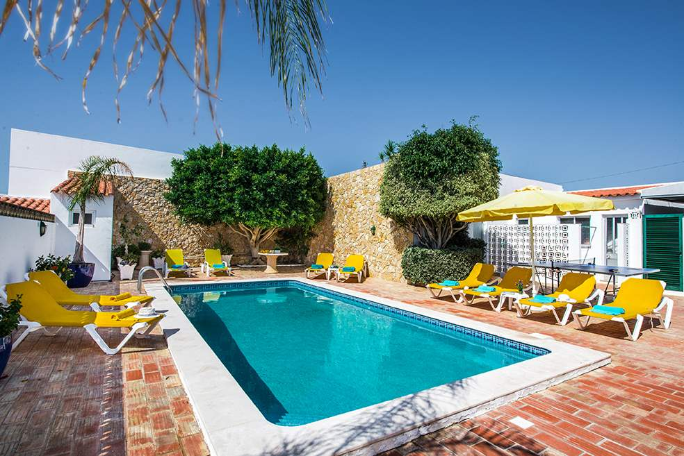 Casa Rebela, Up to 9 persons rate, 5 bedroom villa in Gale, Vale da Parra and Guia, Algarve Photo #7