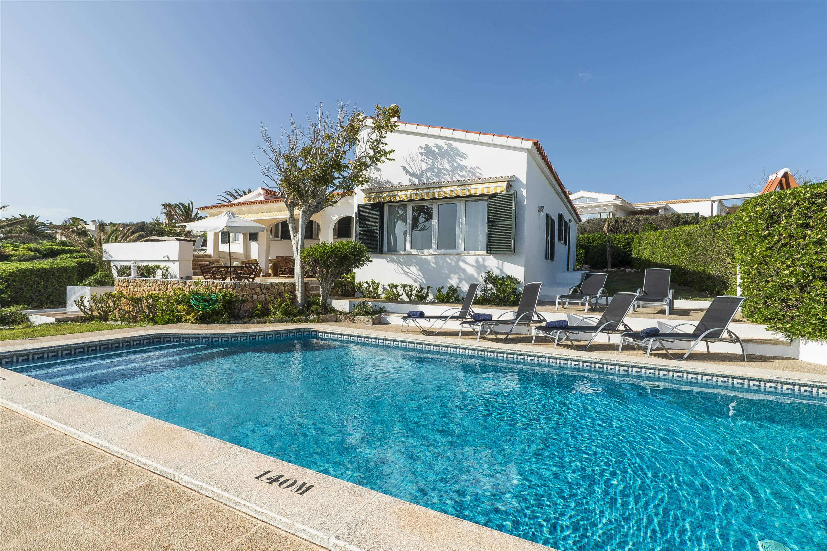 Villa El Güerito, 4 bedroom villa in Mahon, San Luis & South East, Menorca