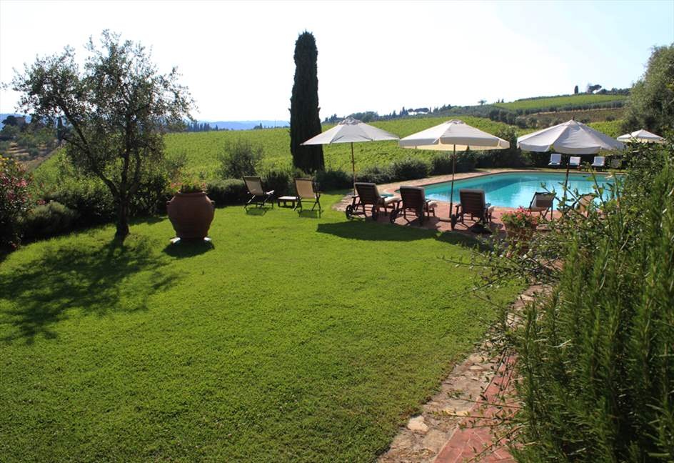Apartment Colonna, 4 apartment in Chianti & Countryside, Tuscany