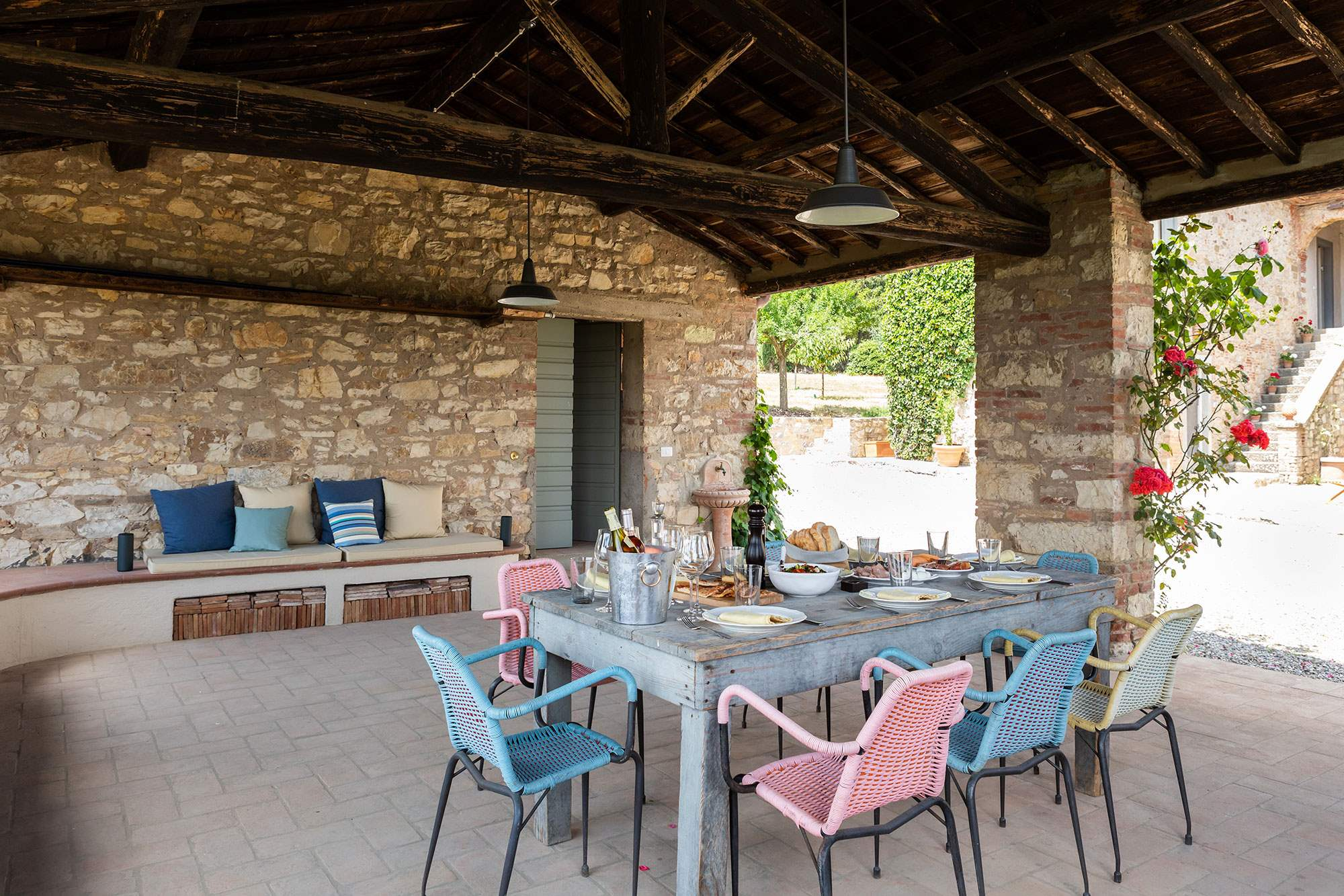 Villa Lecchi, 5 bedroom villa in Chianti & Countryside, Tuscany Photo #3