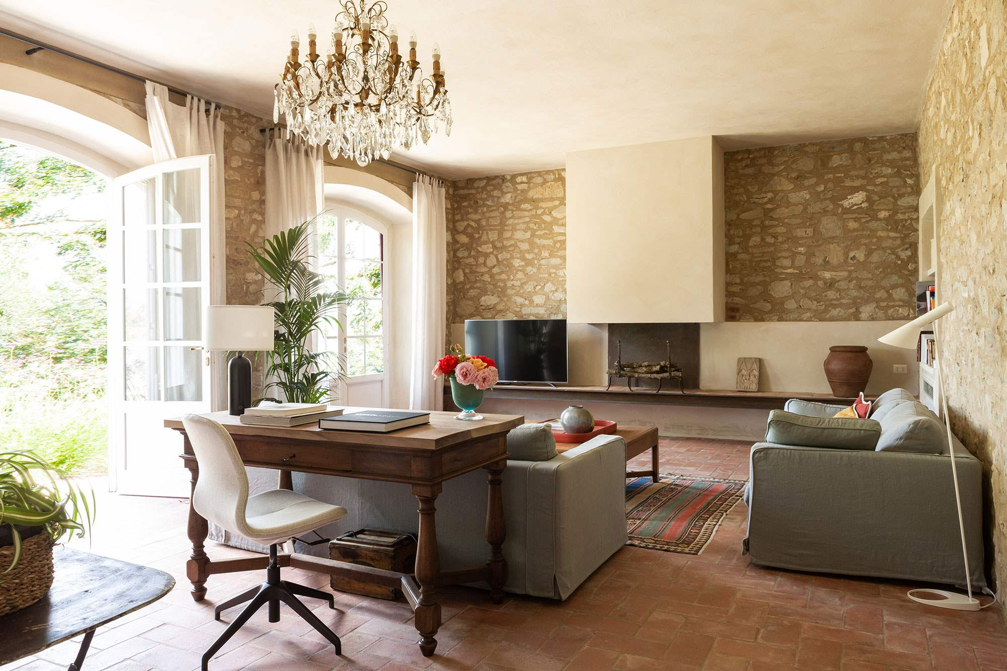Villa Lecchi, 5 bedroom villa in Chianti & Countryside, Tuscany Photo #4