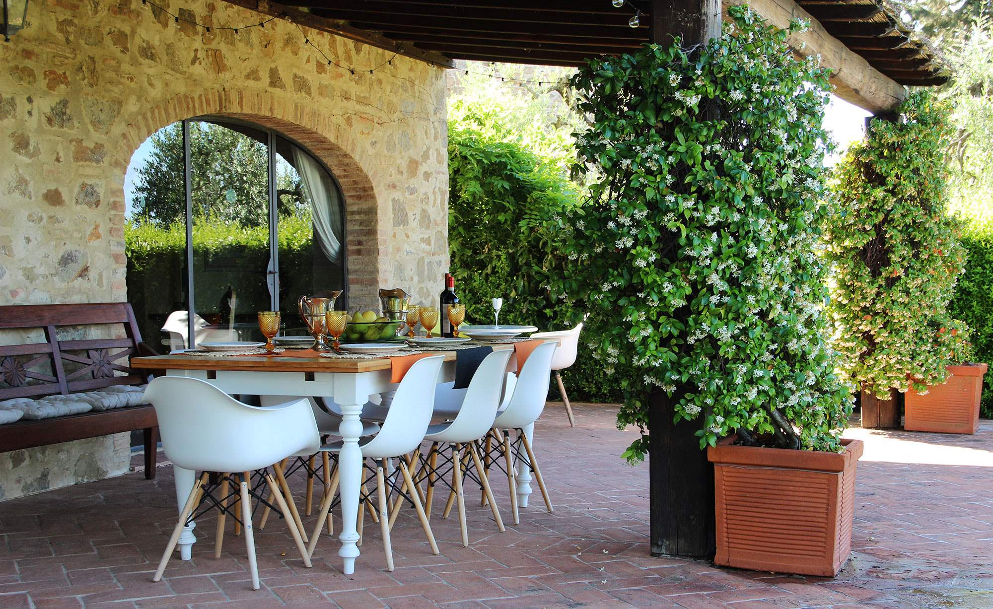 Villa Capanna, 3 bedroom villa in Chianti & Countryside, Tuscany Photo #13
