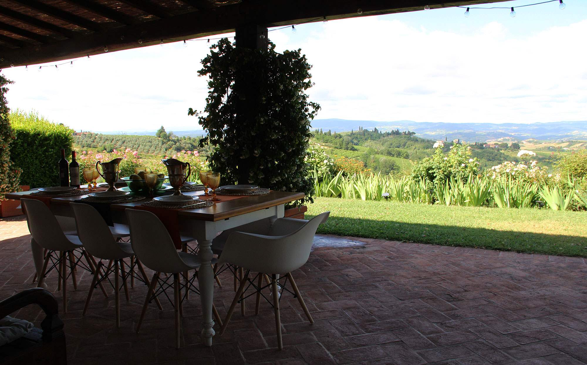 Villa Capanna, 3 bedroom villa in Chianti & Countryside, Tuscany Photo #14