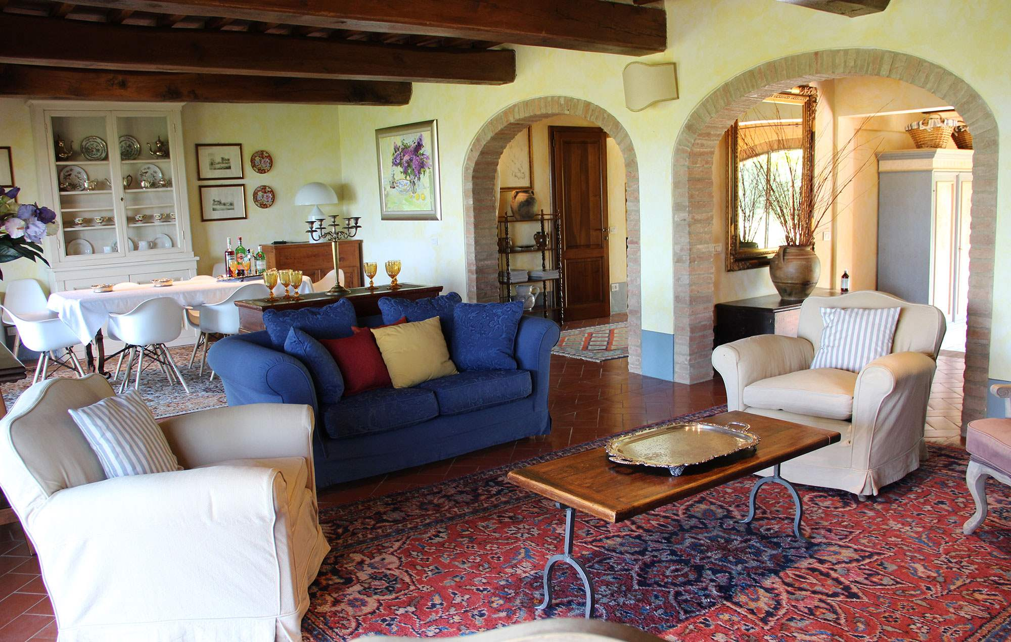 Villa Capanna, 3 bedroom villa in Chianti & Countryside, Tuscany Photo #3