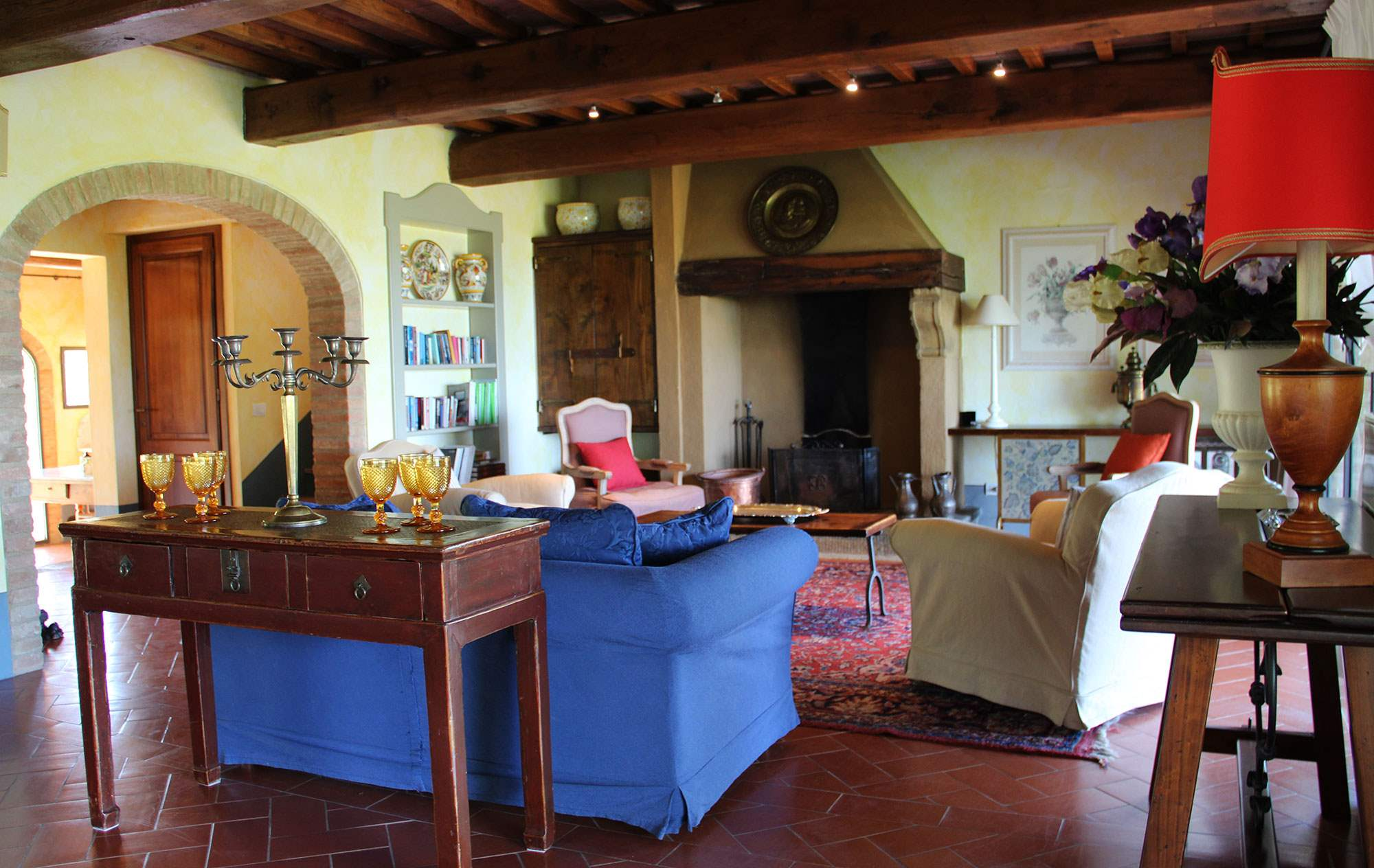 Villa Capanna, 3 bedroom villa in Chianti & Countryside, Tuscany Photo #4