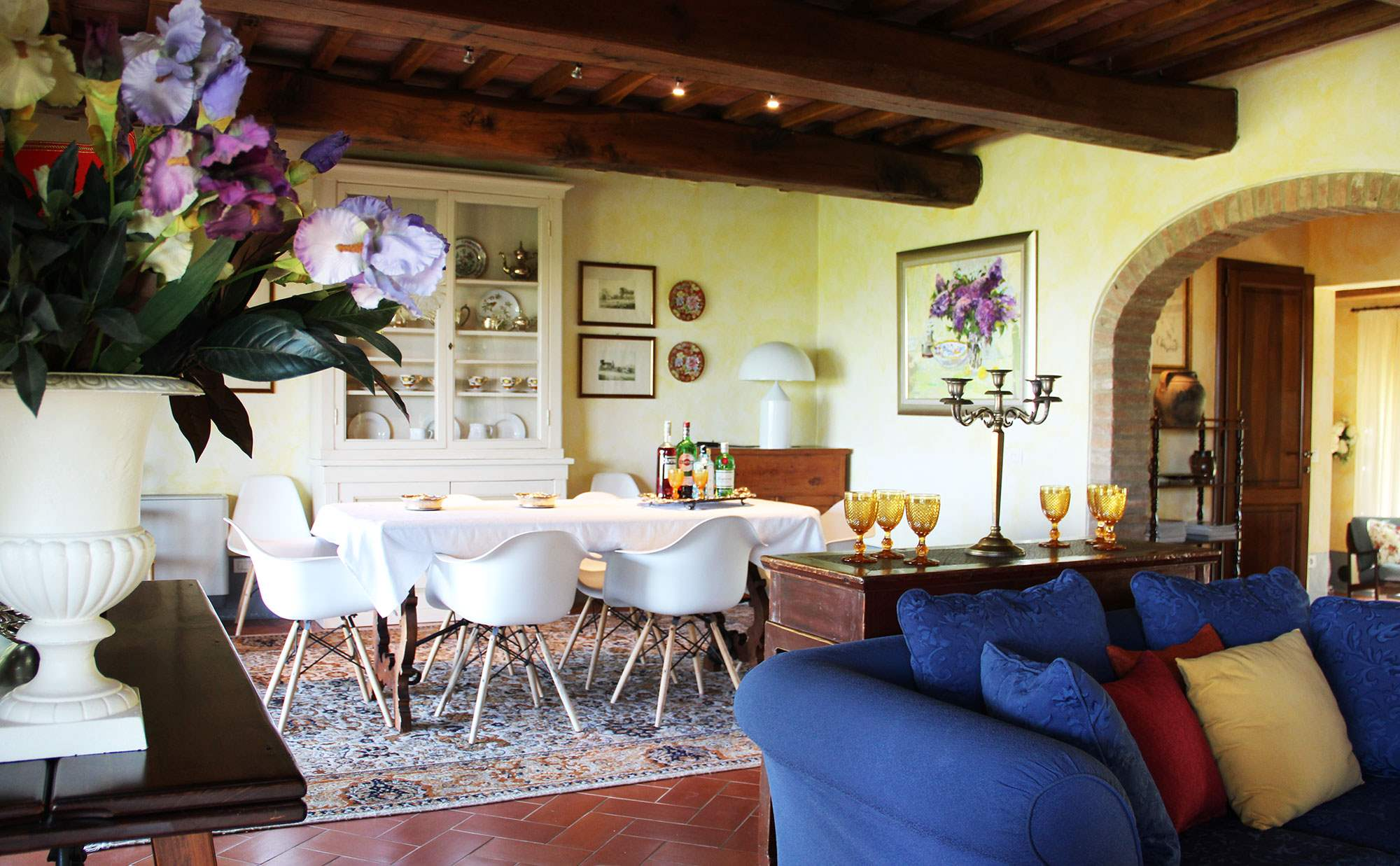 Villa Capanna, 3 bedroom villa in Chianti & Countryside, Tuscany Photo #5