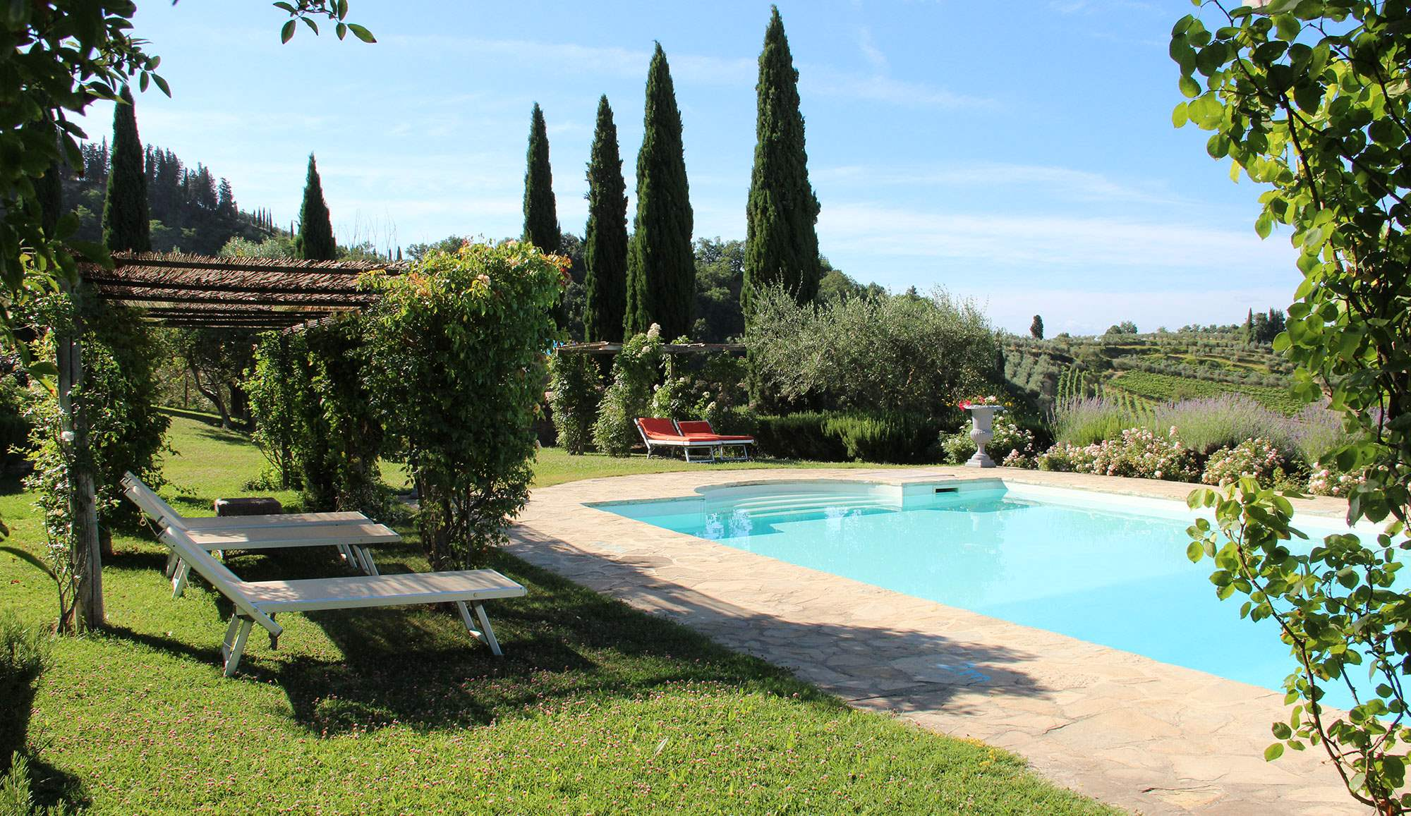 Villa Capanna, 3 bedroom villa in Chianti & Countryside, Tuscany Photo #9
