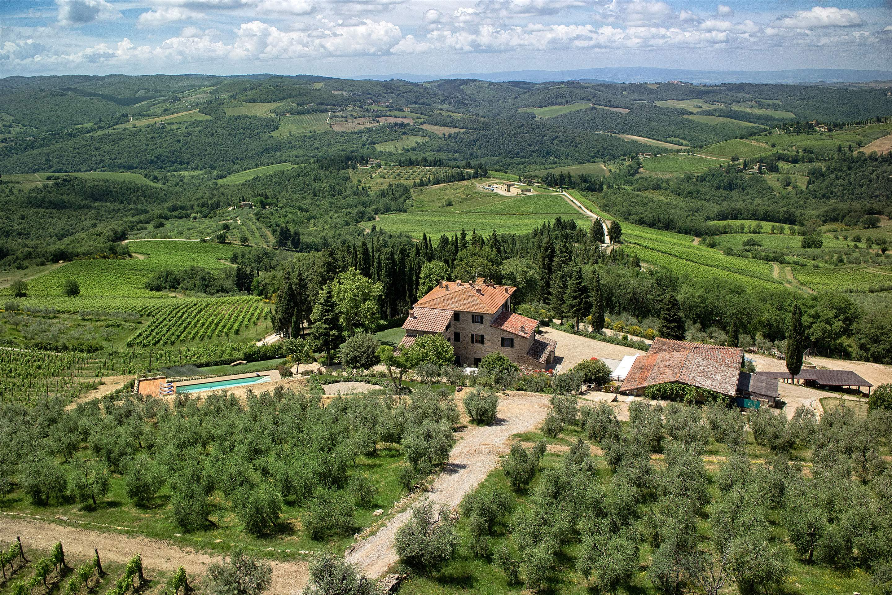 Villa La Valetta, 1 Bed Apt Uva, 1 bedroom villa in Chianti & Countryside, Tuscany Photo #11