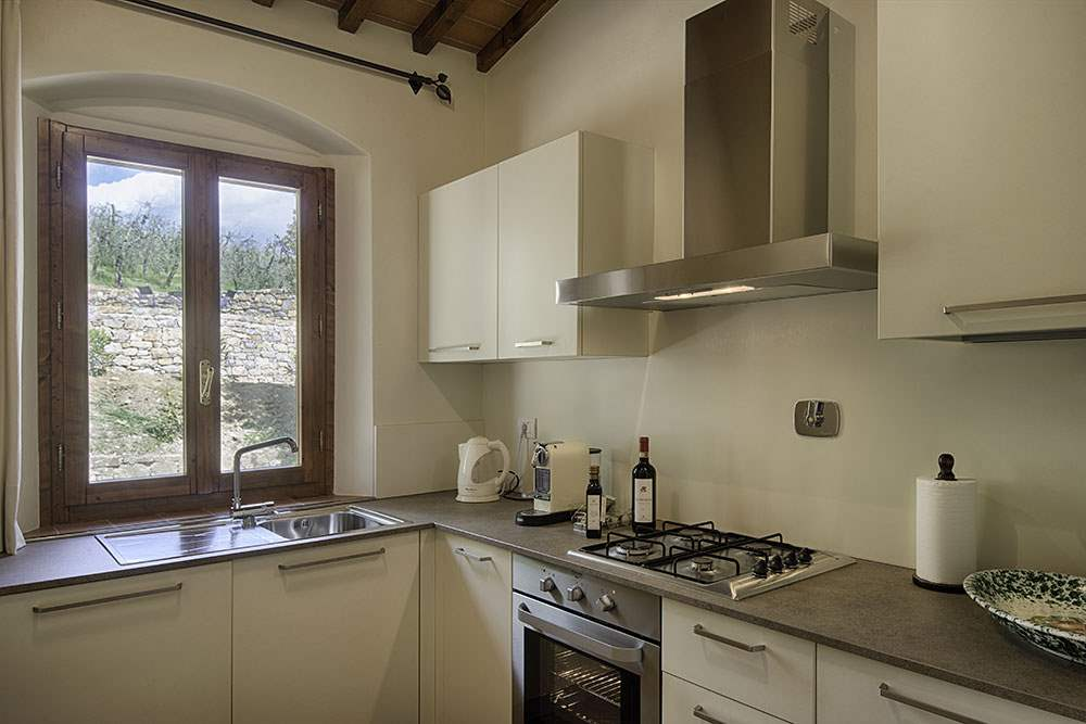 Villa La Valetta, 1 Bed Apt Ulivo, 1 bedroom villa in Chianti & Countryside, Tuscany Photo #8