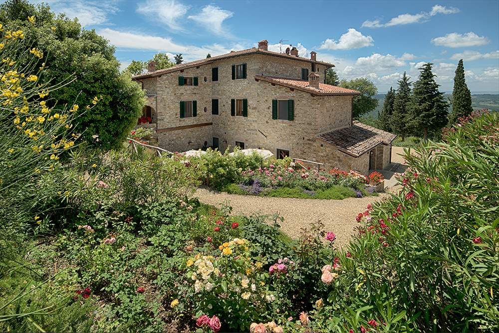 Villa La Valetta, Apt Rosa + 2 Bedrooms, 3 bedroom villa in Chianti & Countryside, Tuscany Photo #13