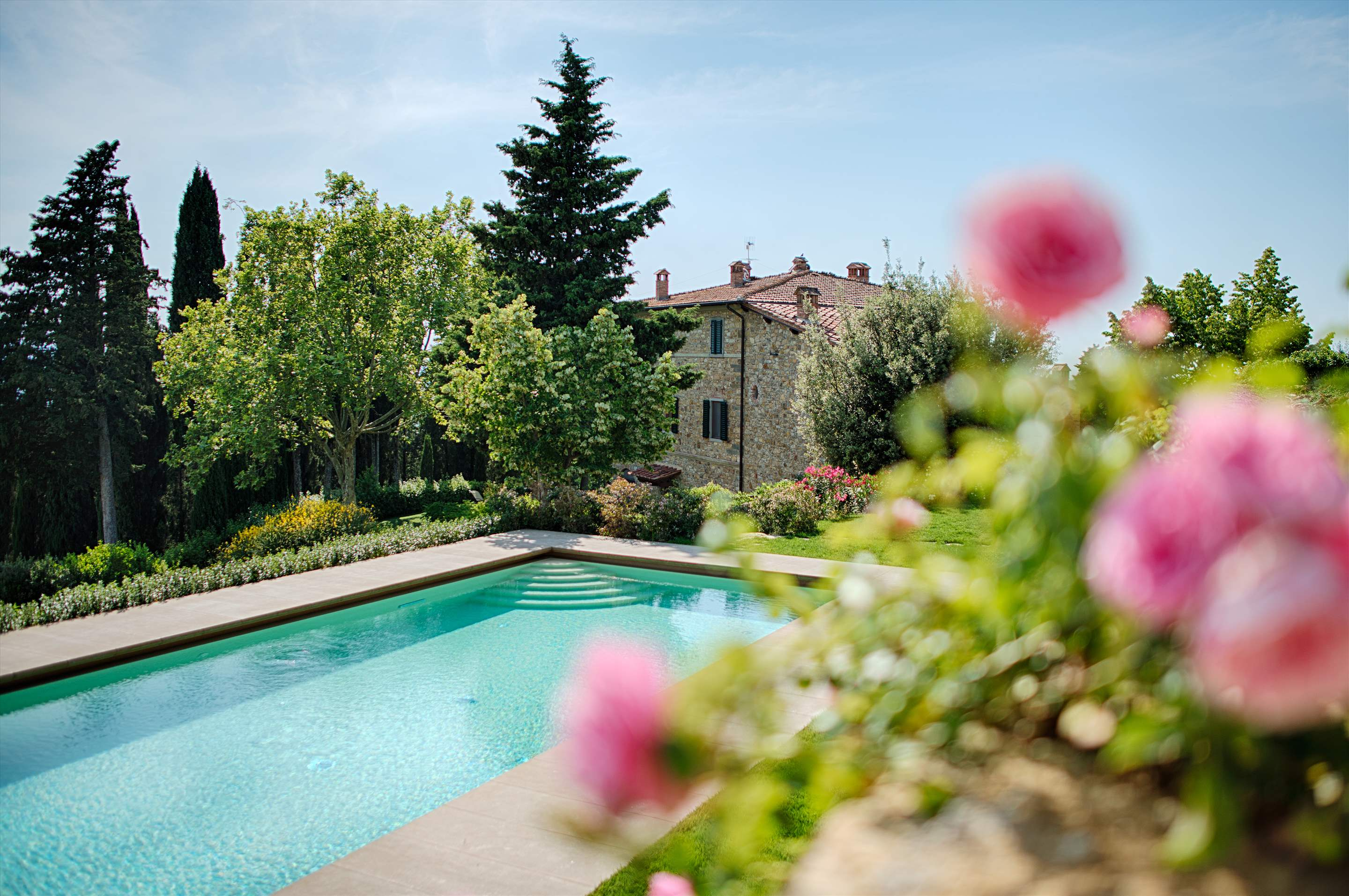 Villa La Valetta, Apt Rosa + 2 Bedrooms, 3 bedroom villa in Chianti & Countryside, Tuscany Photo #16