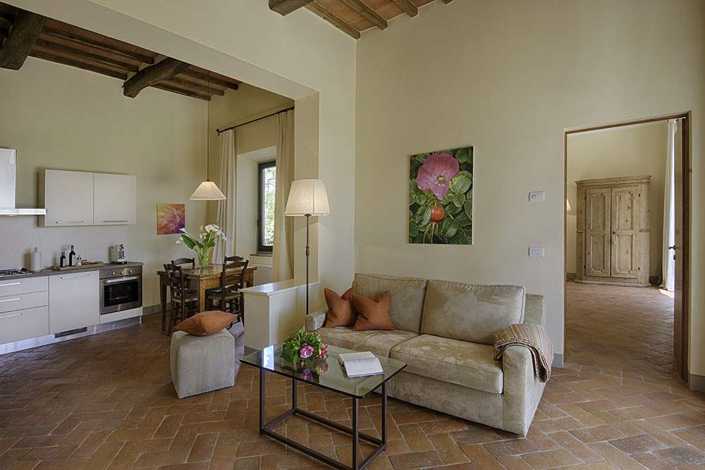 Villa La Valetta, Apt Rosa + 2 Bedrooms, 3 bedroom villa in Chianti & Countryside, Tuscany Photo #4