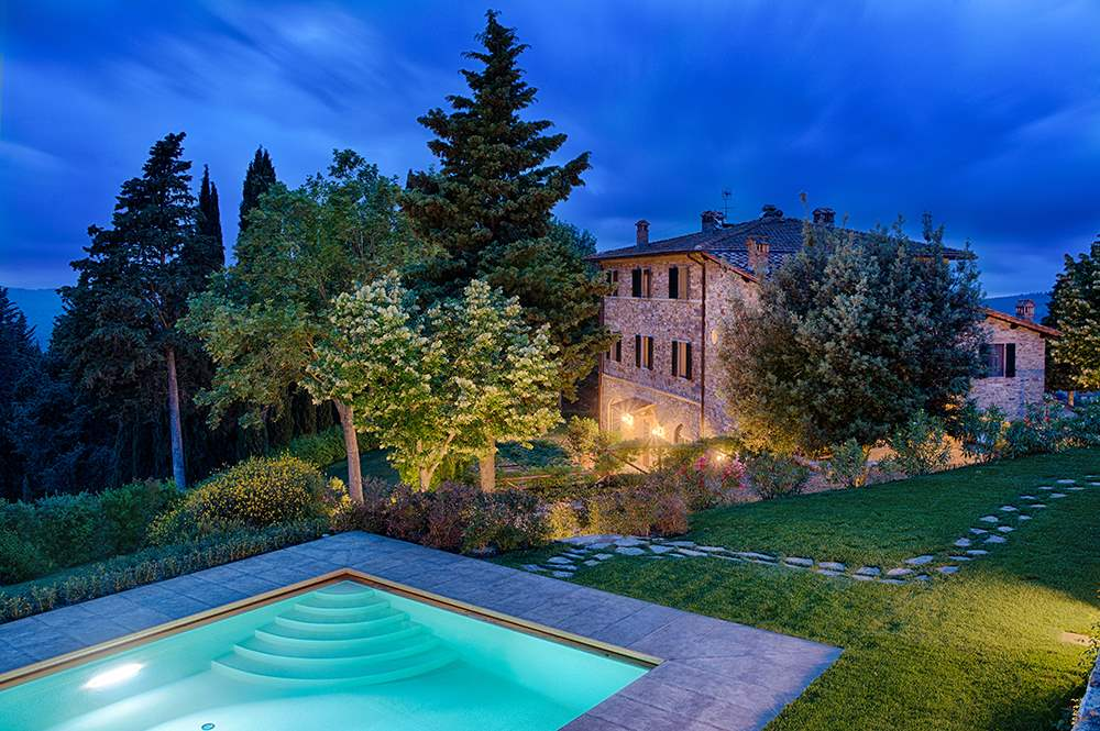 Villa La Valetta, Apt Rosa + 2 Bedrooms, 3 bedroom villa in Chianti & Countryside, Tuscany Photo #6