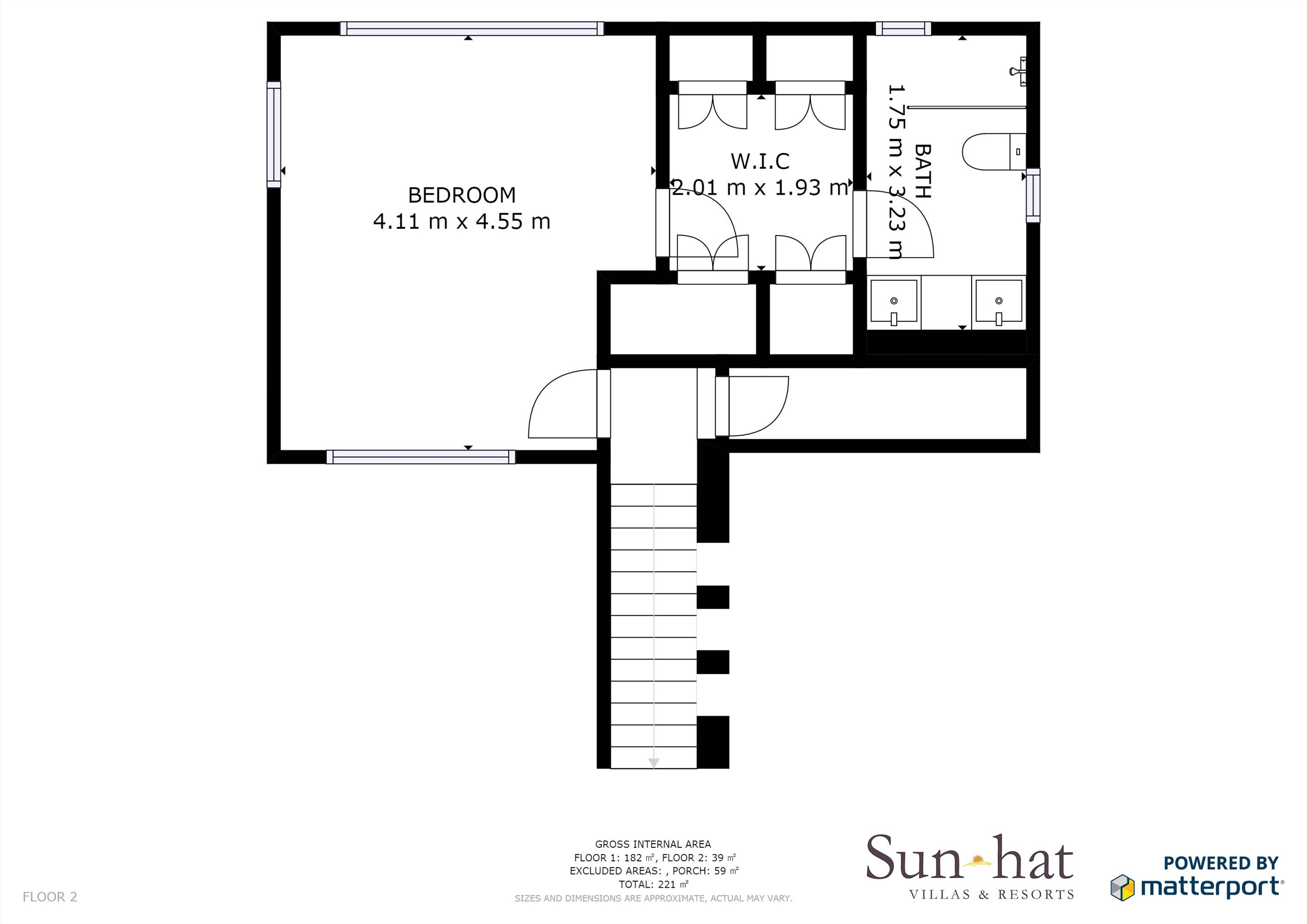 Pine Cliffs Villa Aurora Floorplan #2