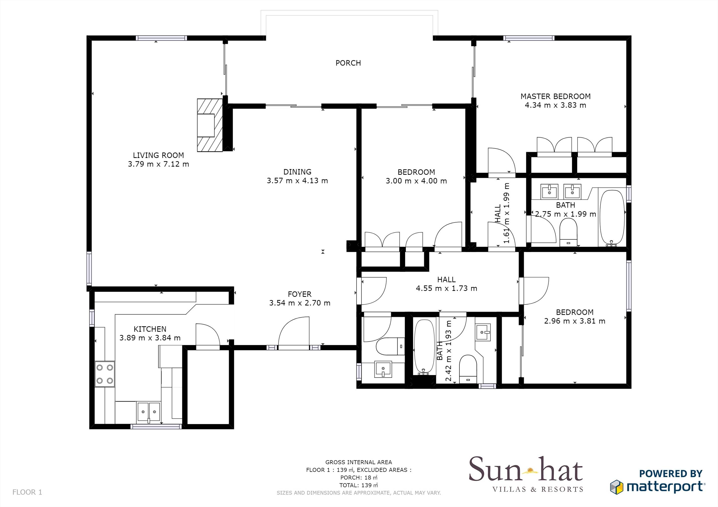 Casa Bella Floorplan #1