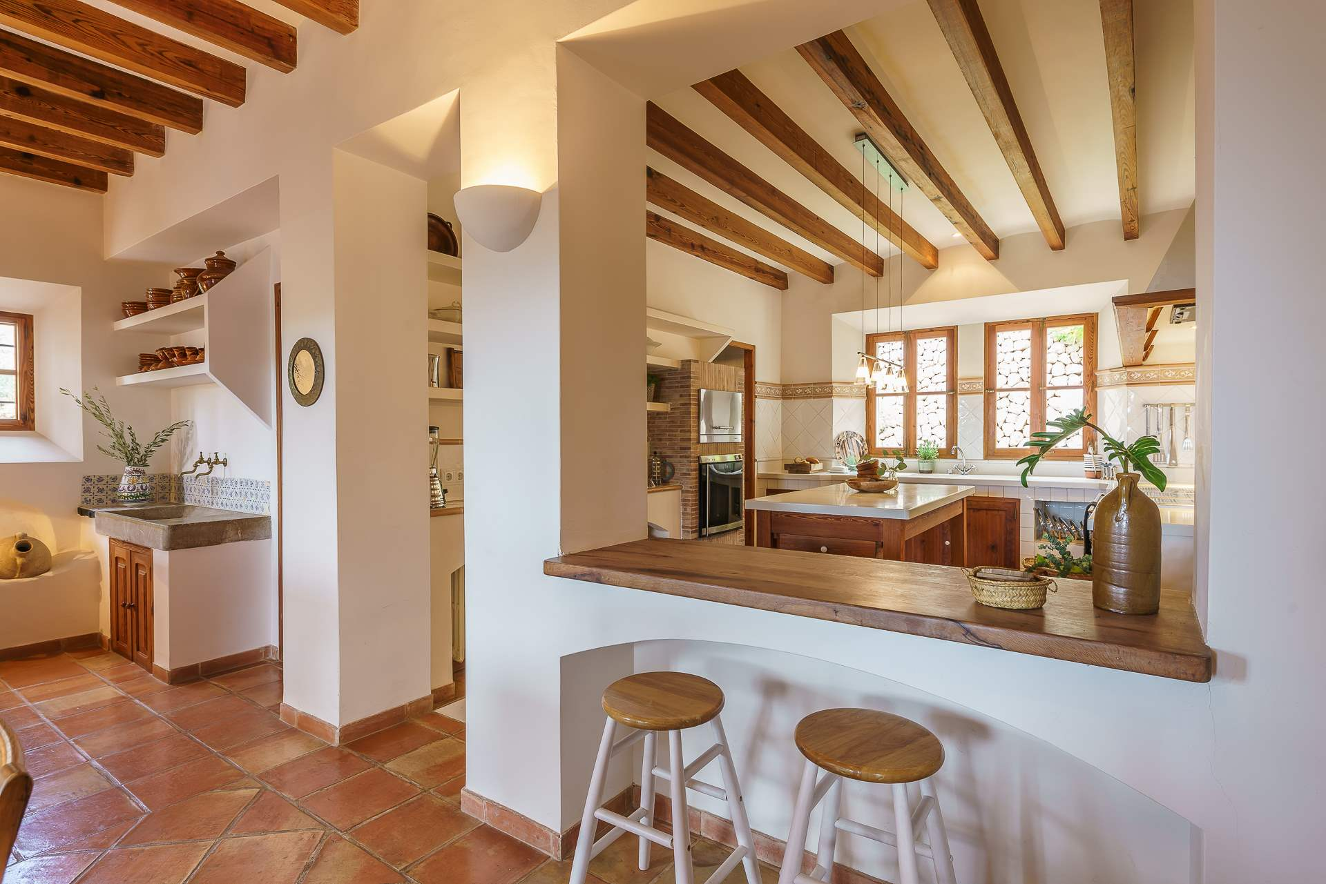 Sa Tanca, 3 Bedroom Rental, 3 bedroom villa in Soller & Deia, Majorca Photo #10