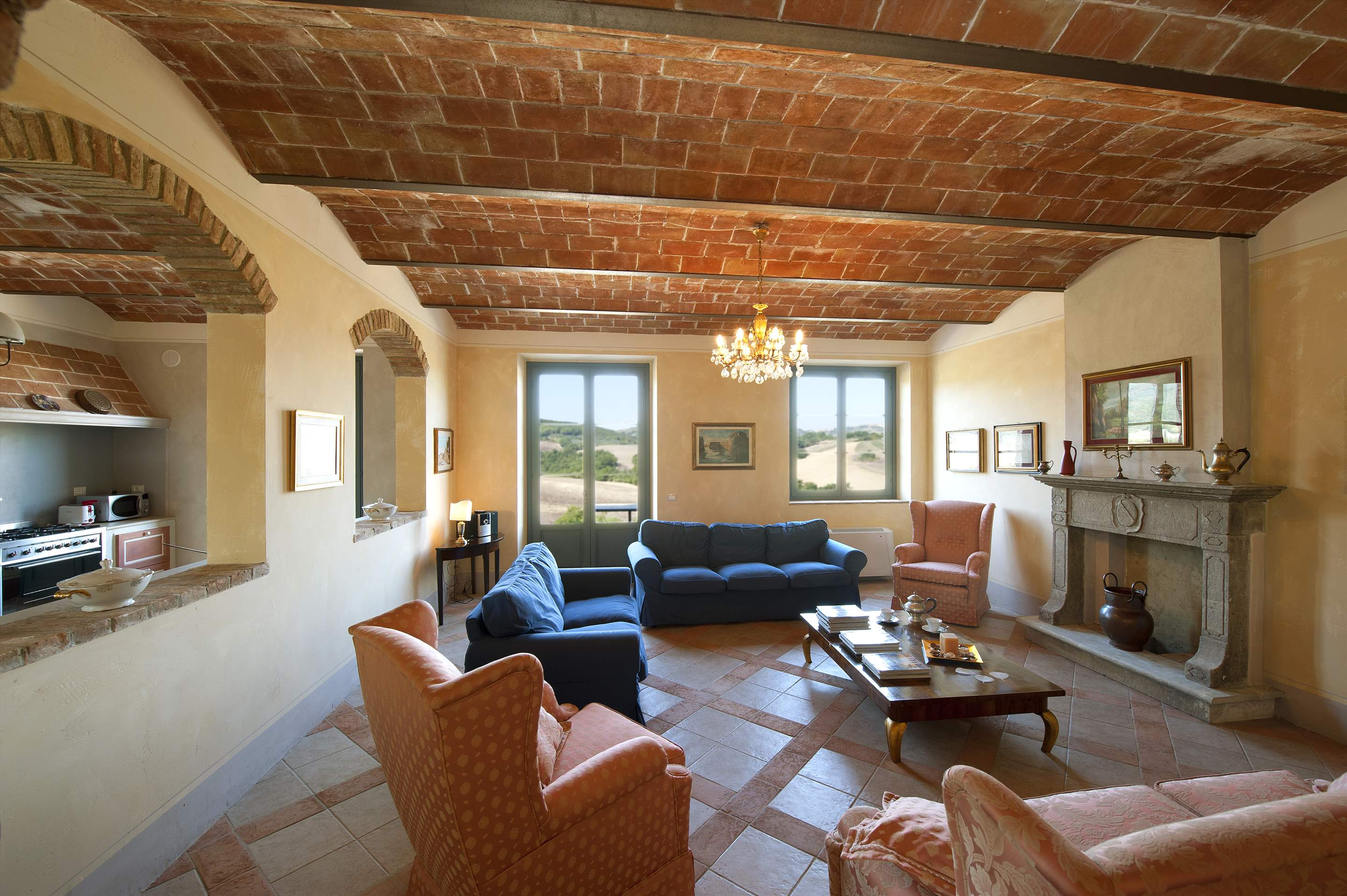 Podere Di Collina, Villa & Apts, 8 bedroom villa in Tuscany Coast, Tuscany Photo #6
