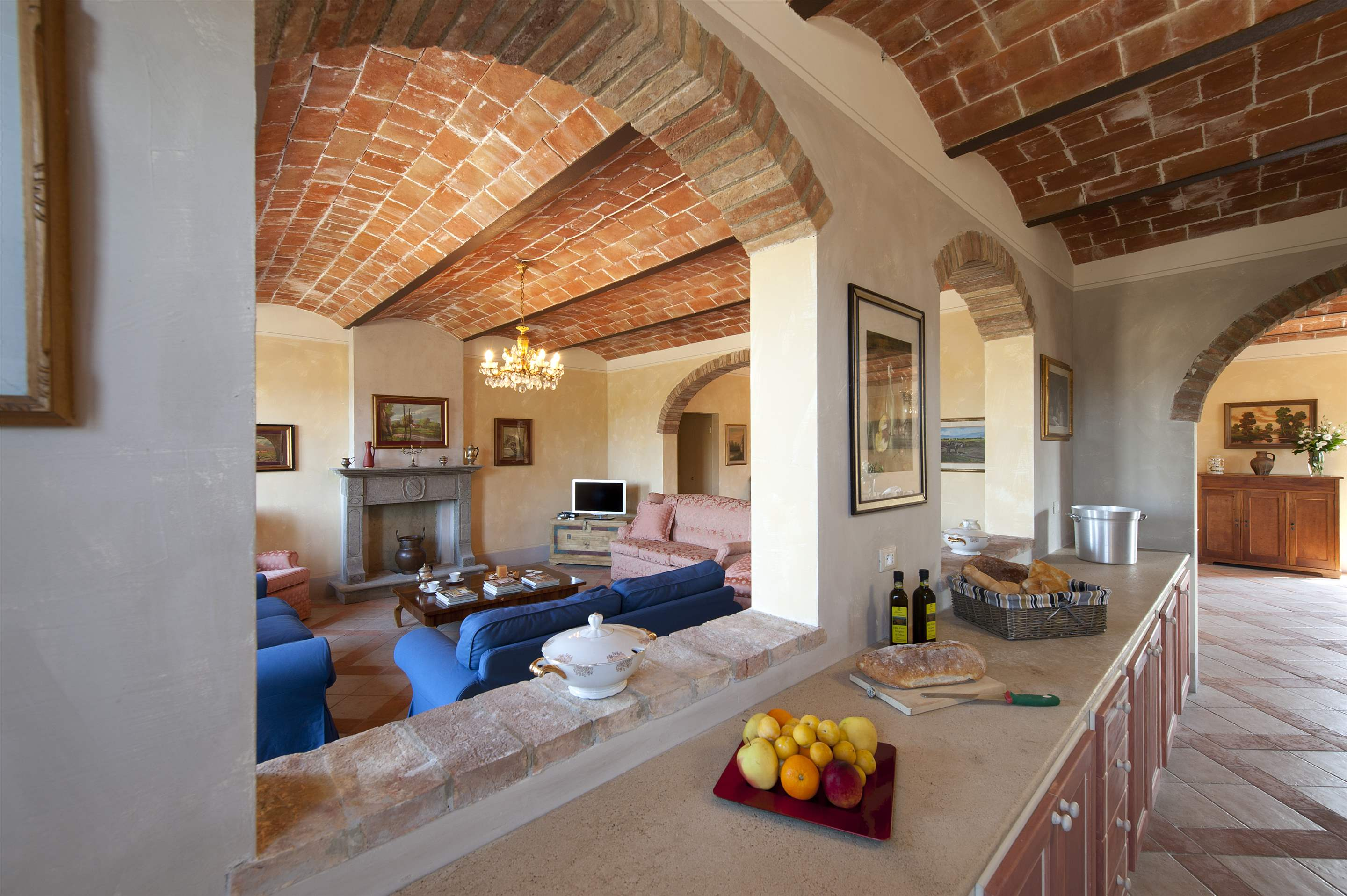 Podere Di Collina, Villa & Apts, 8 bedroom villa in Tuscany Coast, Tuscany Photo #7